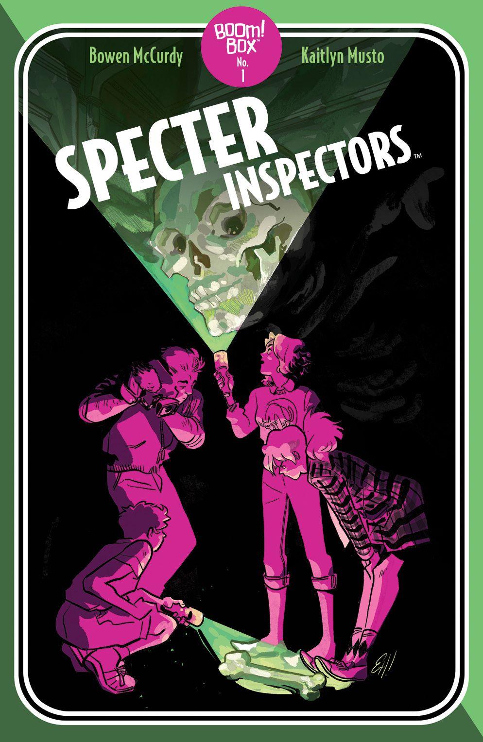 SpecterInspectors_001_Cover_B_PocketbookVariant ComicList: BOOM! Studios New Releases for 02/03/2021