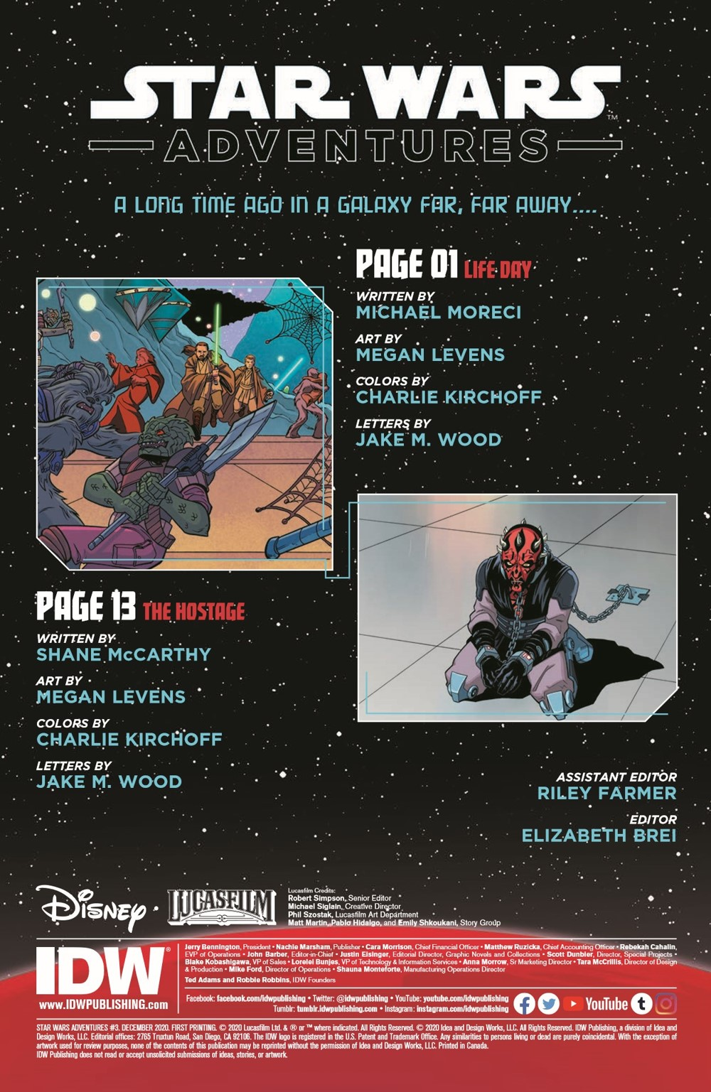 StarWarsAdv03-pr-2 ComicList Previews: STAR WARS ADVENTURES VOLUME 2 #3
