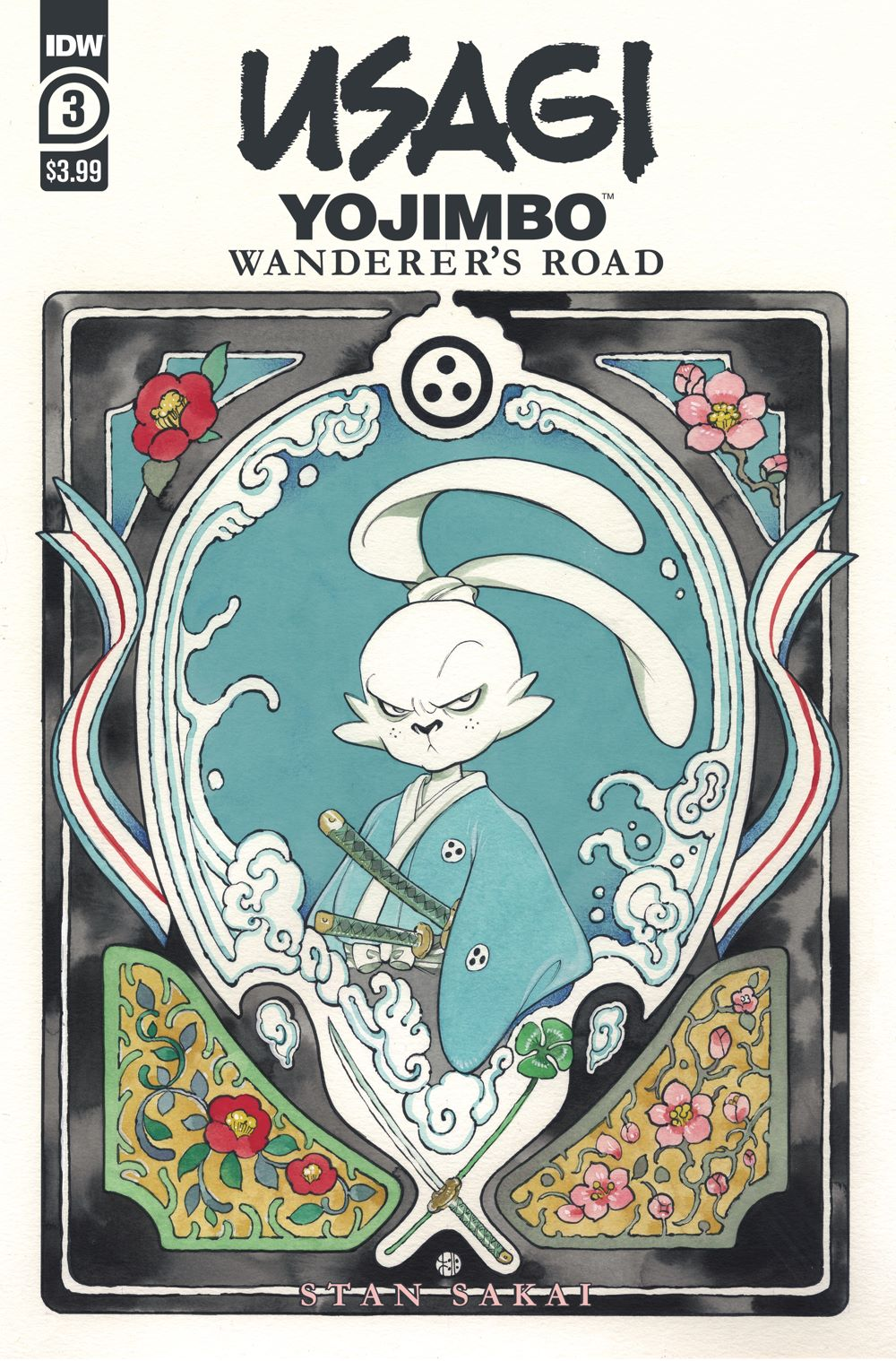 Usagi-WR03_cvrA ComicList Previews: USAGI YOJIMBO WANDERER'S ROAD #3 (OF 6)