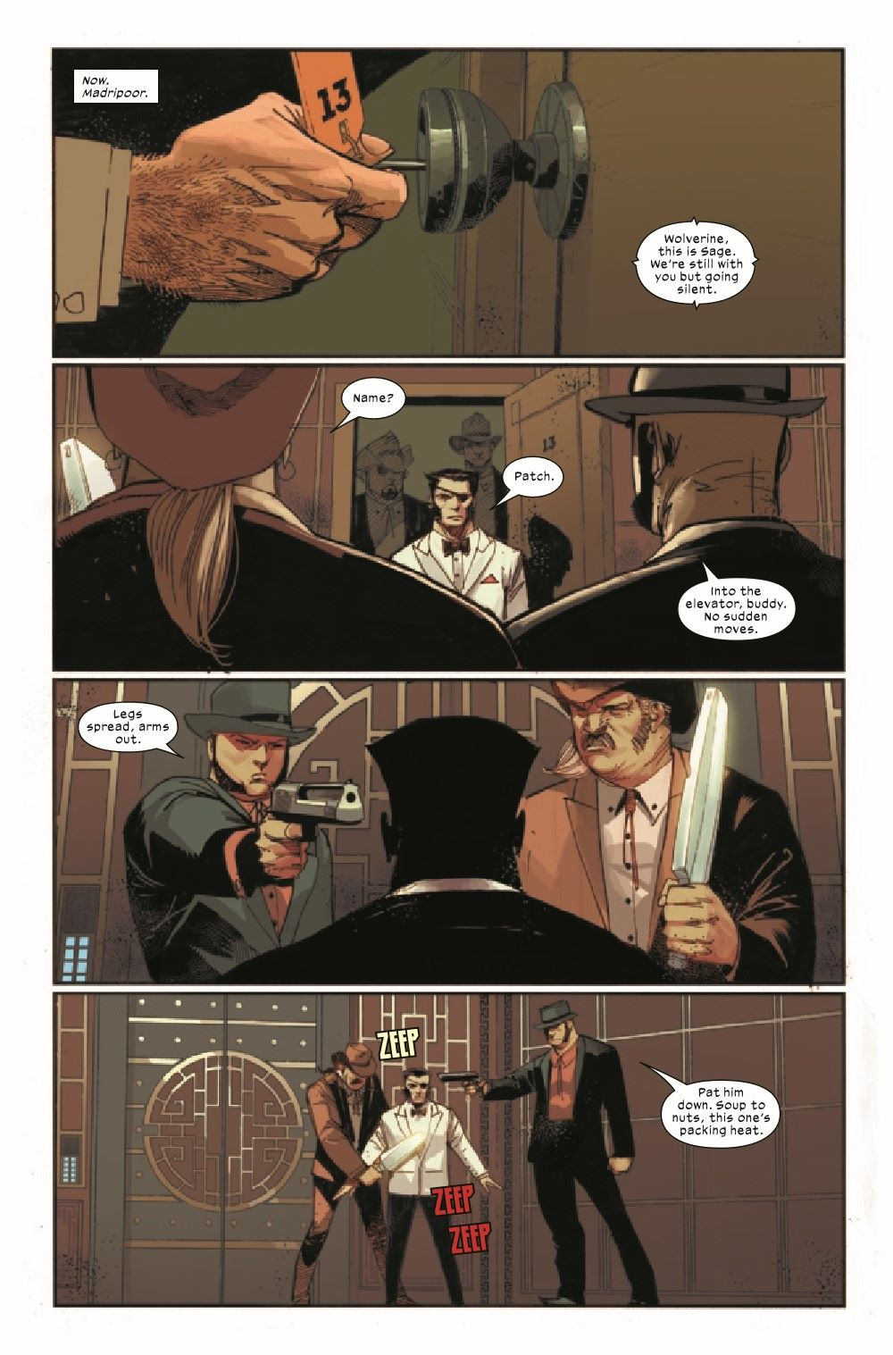 WOLV2020009_Preview-2 ComicList Previews: WOLVERINE #9