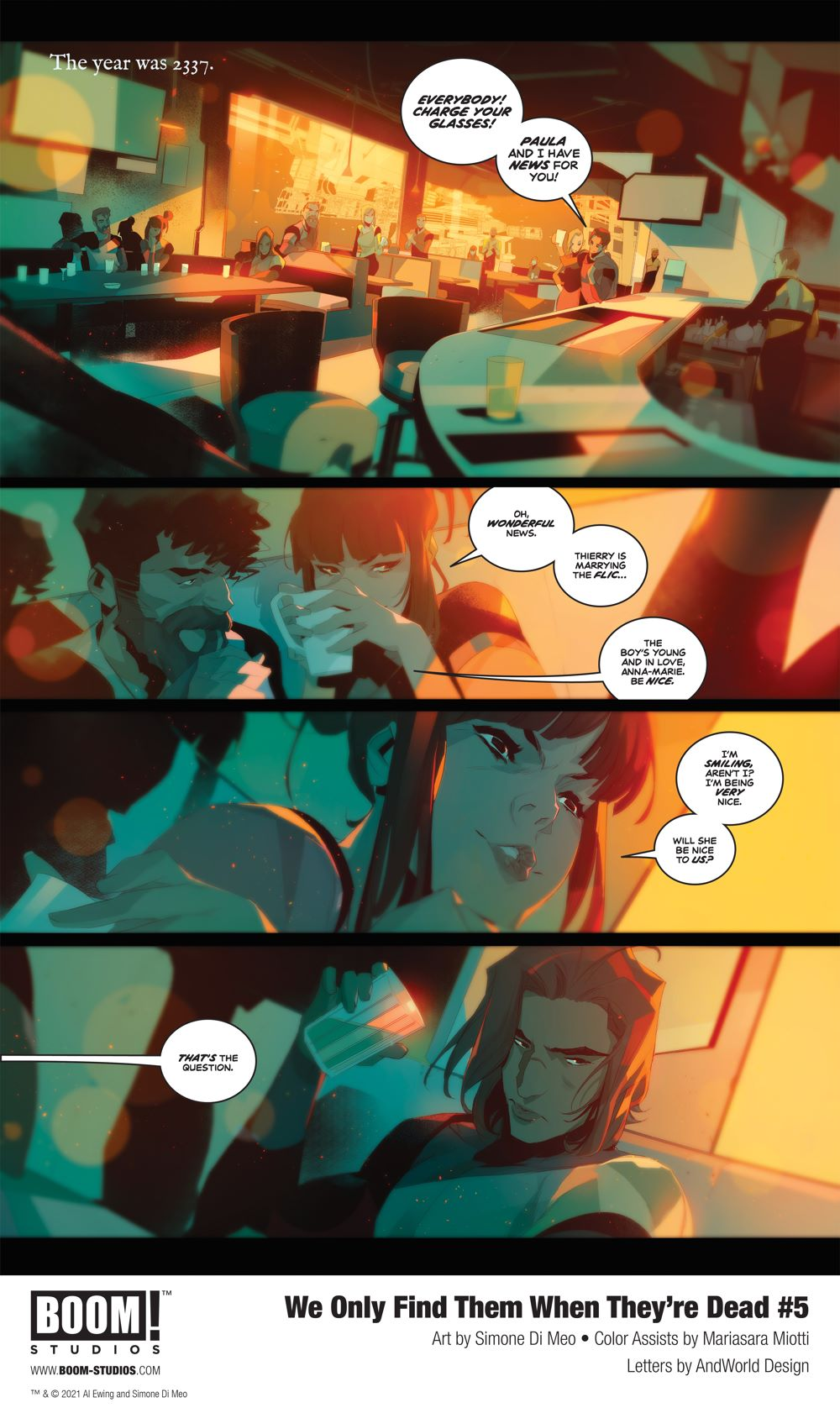 WeOnlyFindThem_005_InteriorArt_001_PROMO First Look at BOOM! Studios' WE ONLY FIND THEM WHEN THEY'RE DEAD #5
