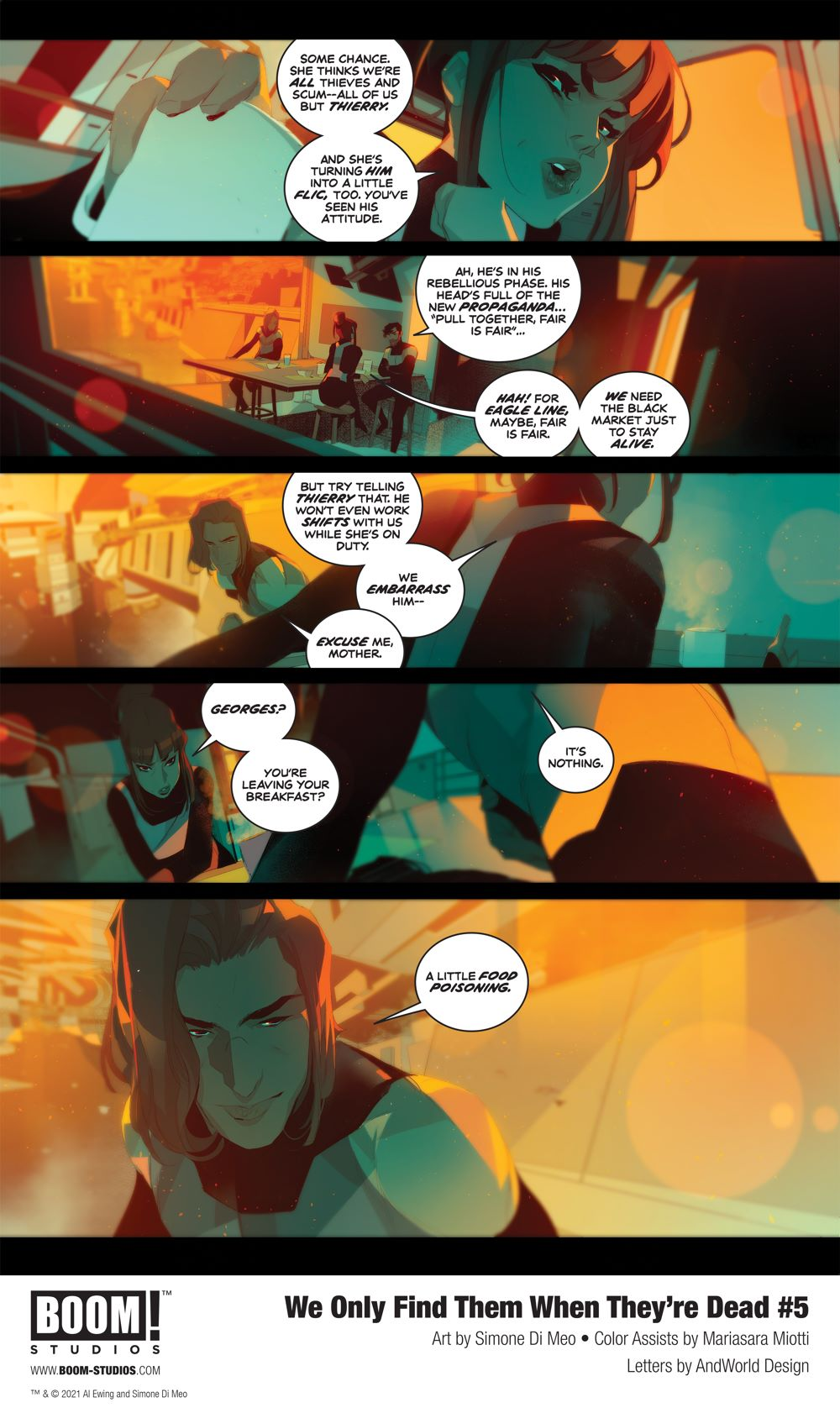 WeOnlyFindThem_005_InteriorArt_003_PROMO First Look at BOOM! Studios' WE ONLY FIND THEM WHEN THEY'RE DEAD #5