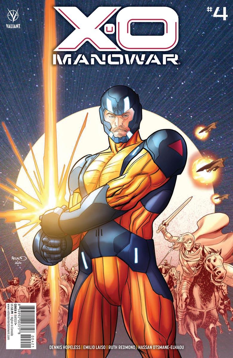 XO_4_COVER_B ComicList Previews: X-O MANOWAR #4