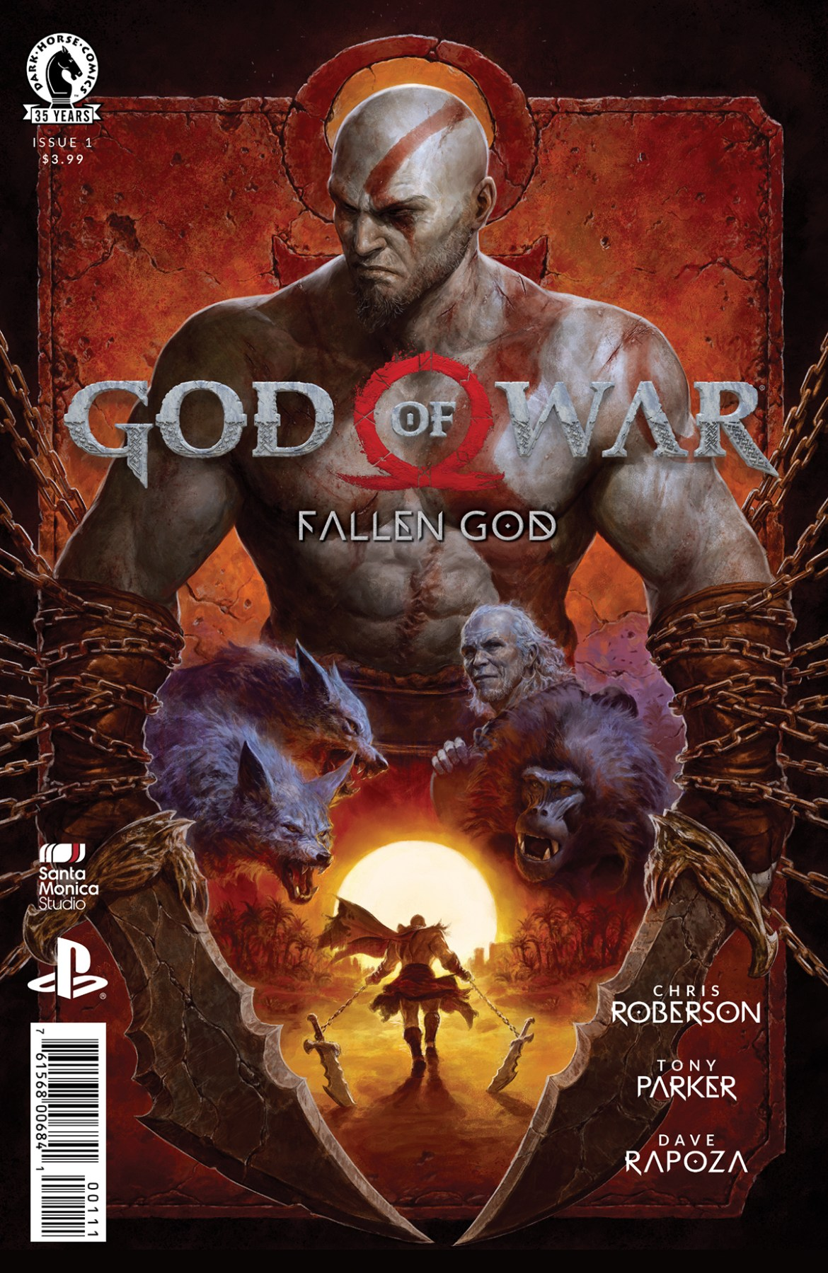 fallengodcov God of War returns in new mini-series FALLEN GOD