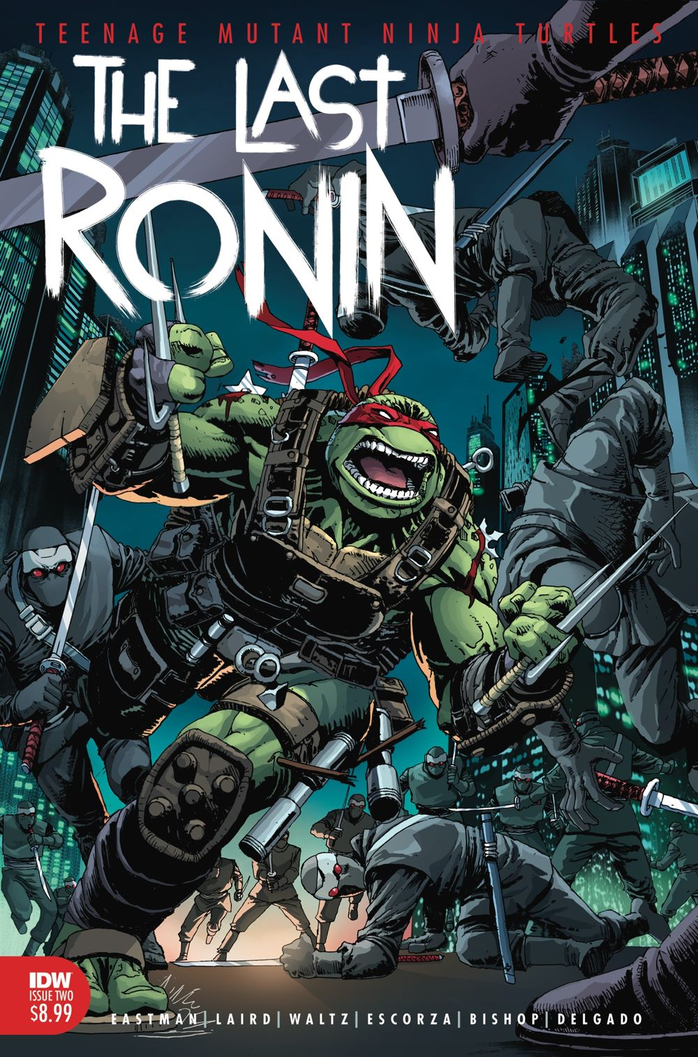 42f955bd-be07-4ee9-8f91-cde7c3b2e7c5 TEENAGE MUTANT NINJA TURTLES THE LAST RONIN #2 returns with 2nd printing