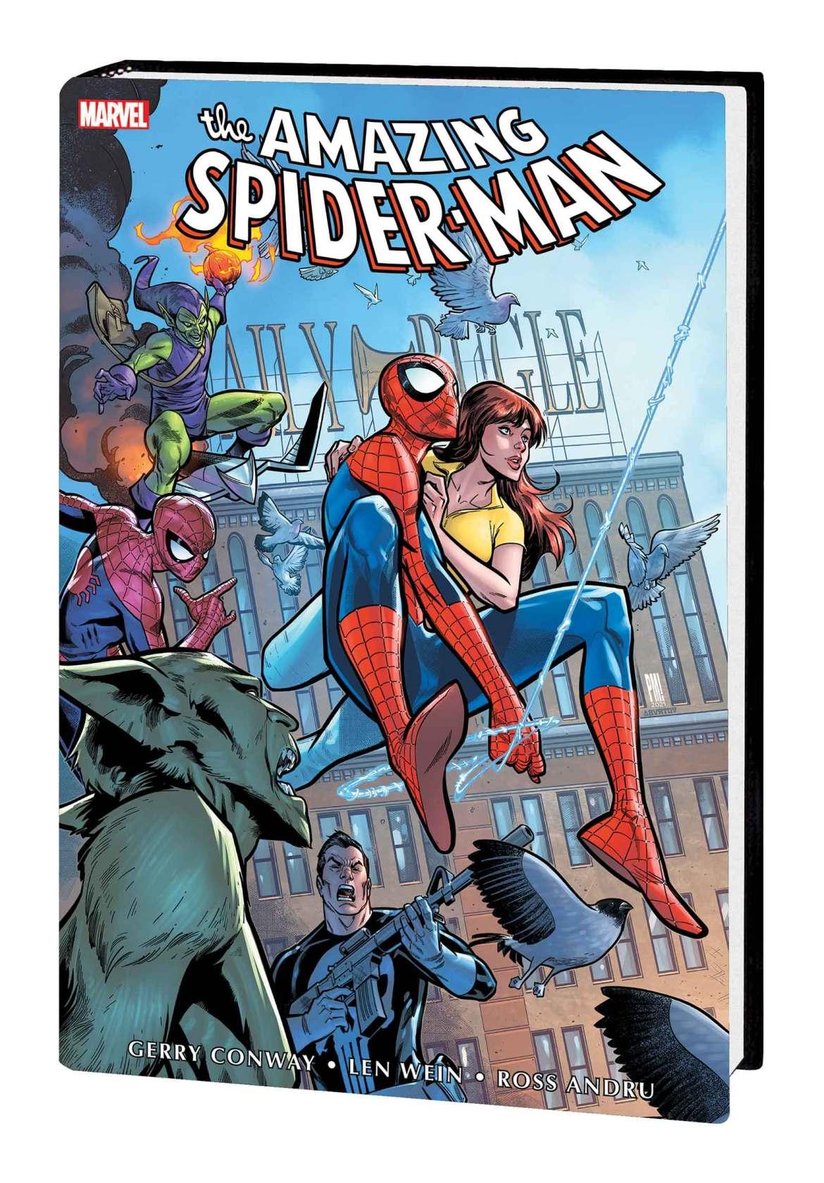 AM_SM_OMNIBUS_V5_HC_MEDINA-1 Marvel Comics May 2021 Solicitations