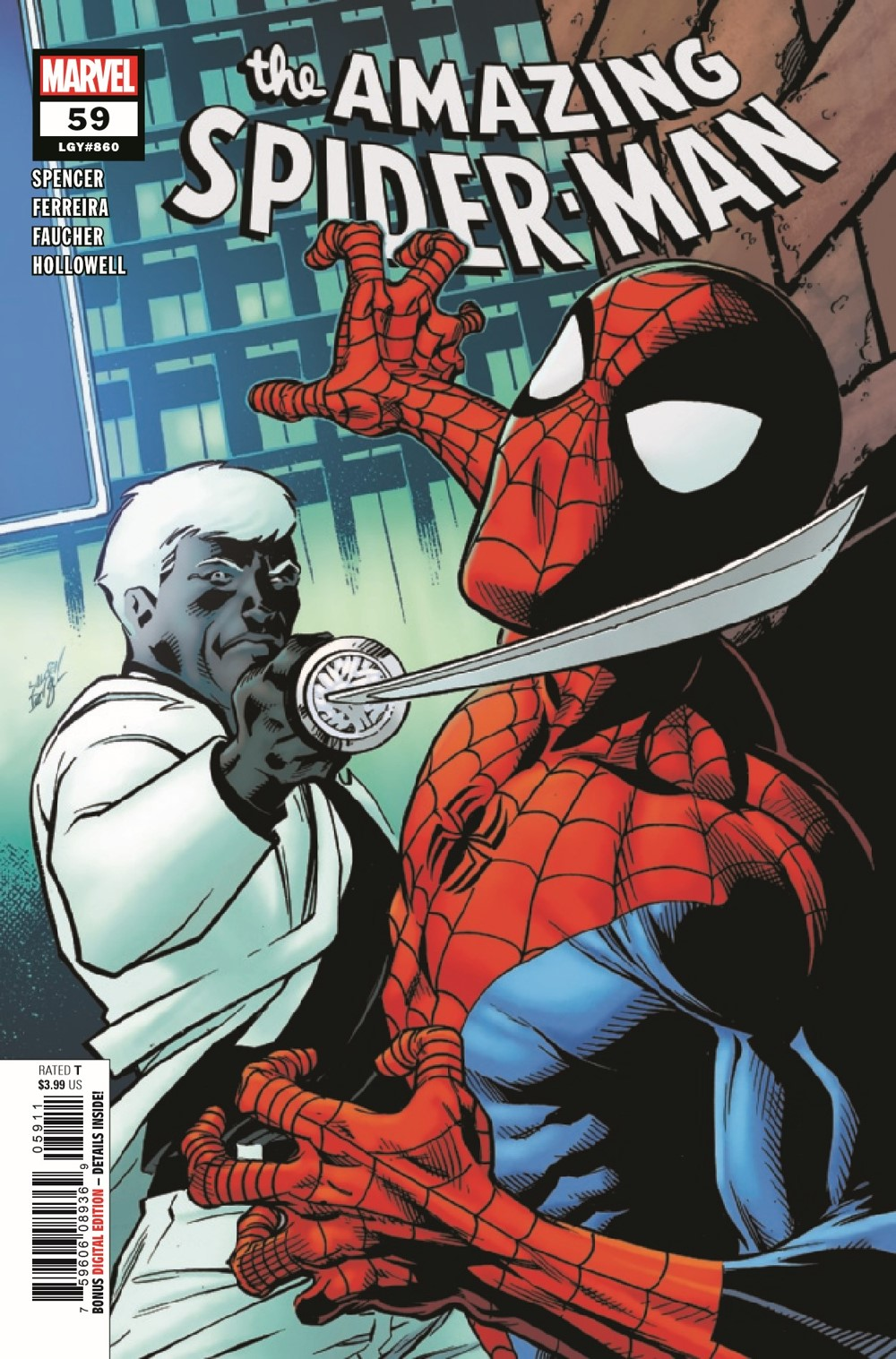 ASM2018059_Preview-1 ComicList Previews: THE AMAZING SPIDER-MAN #59
