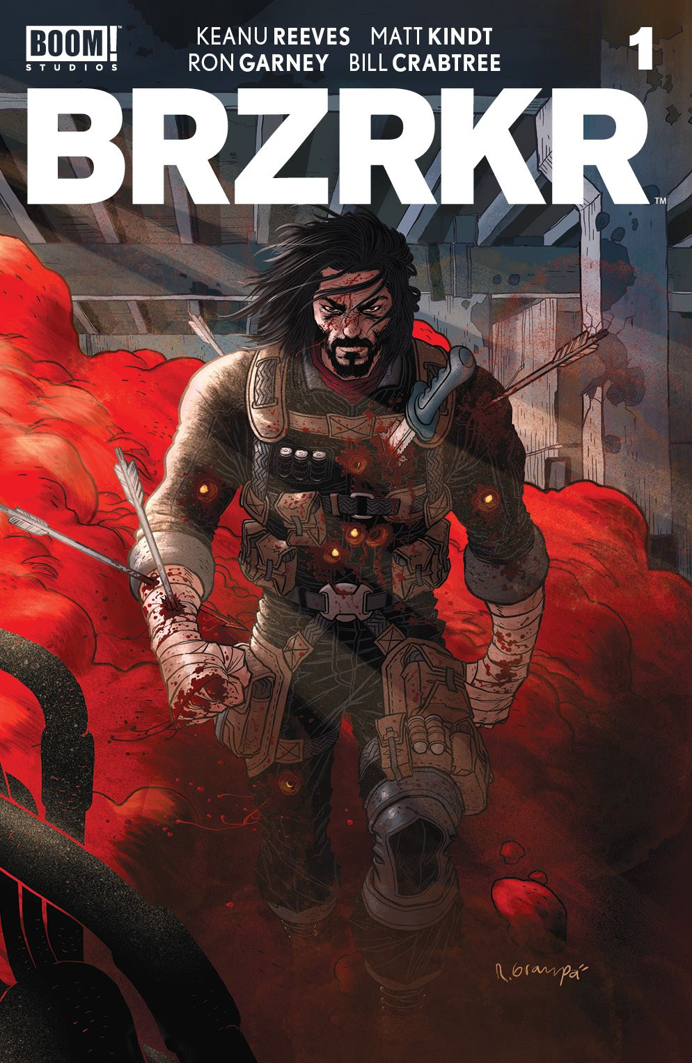 BRZRKR_001_Cover_A_Main_001_LOW ComicList Previews: BRZRKR #1 (Of 12)