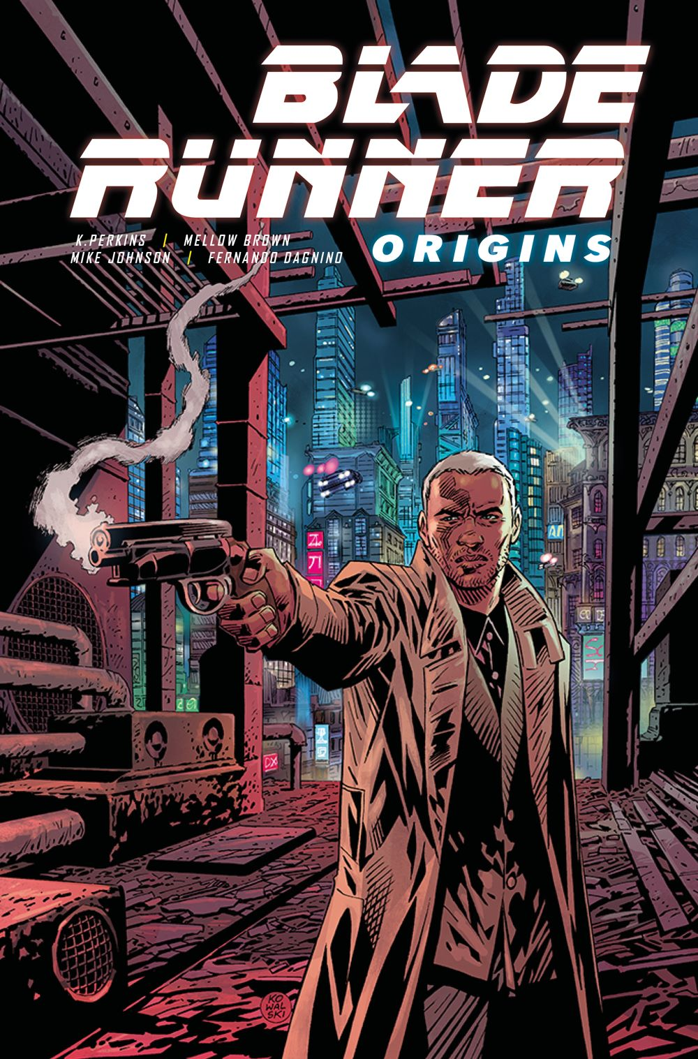 Blade-Runner-Origins_1_E_PIOTR-KOWALSKI ComicList Previews: BLADE RUNNER ORIGINS #1