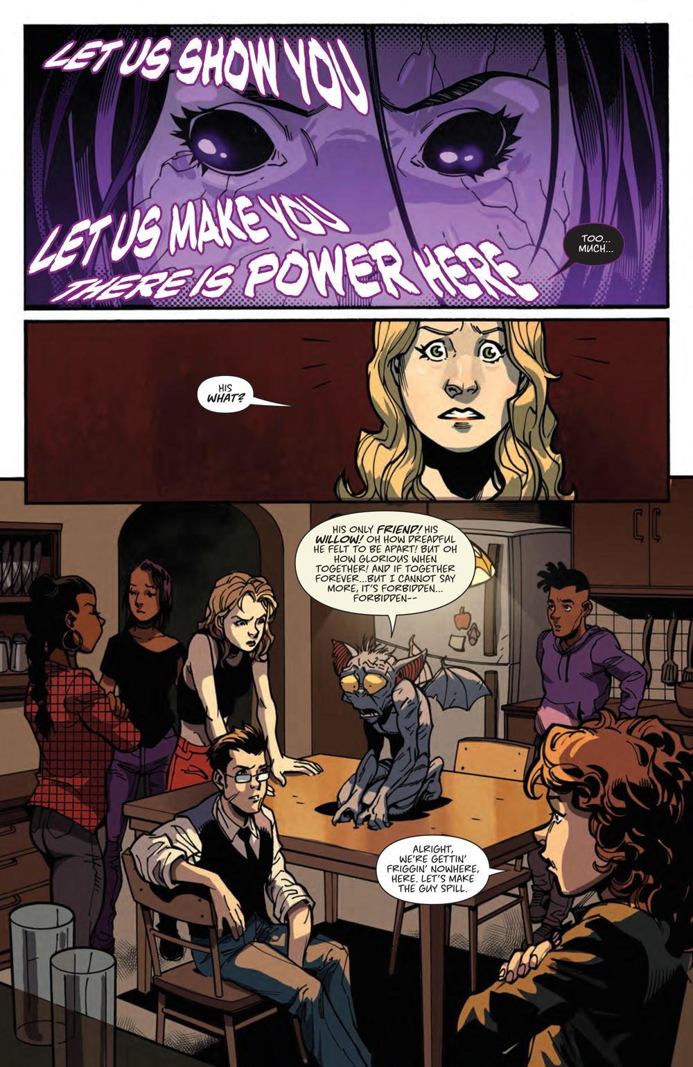 Buffy_023_PRESS_6 ComicList Previews: BUFFY THE VAMPIRE SLAYER #23