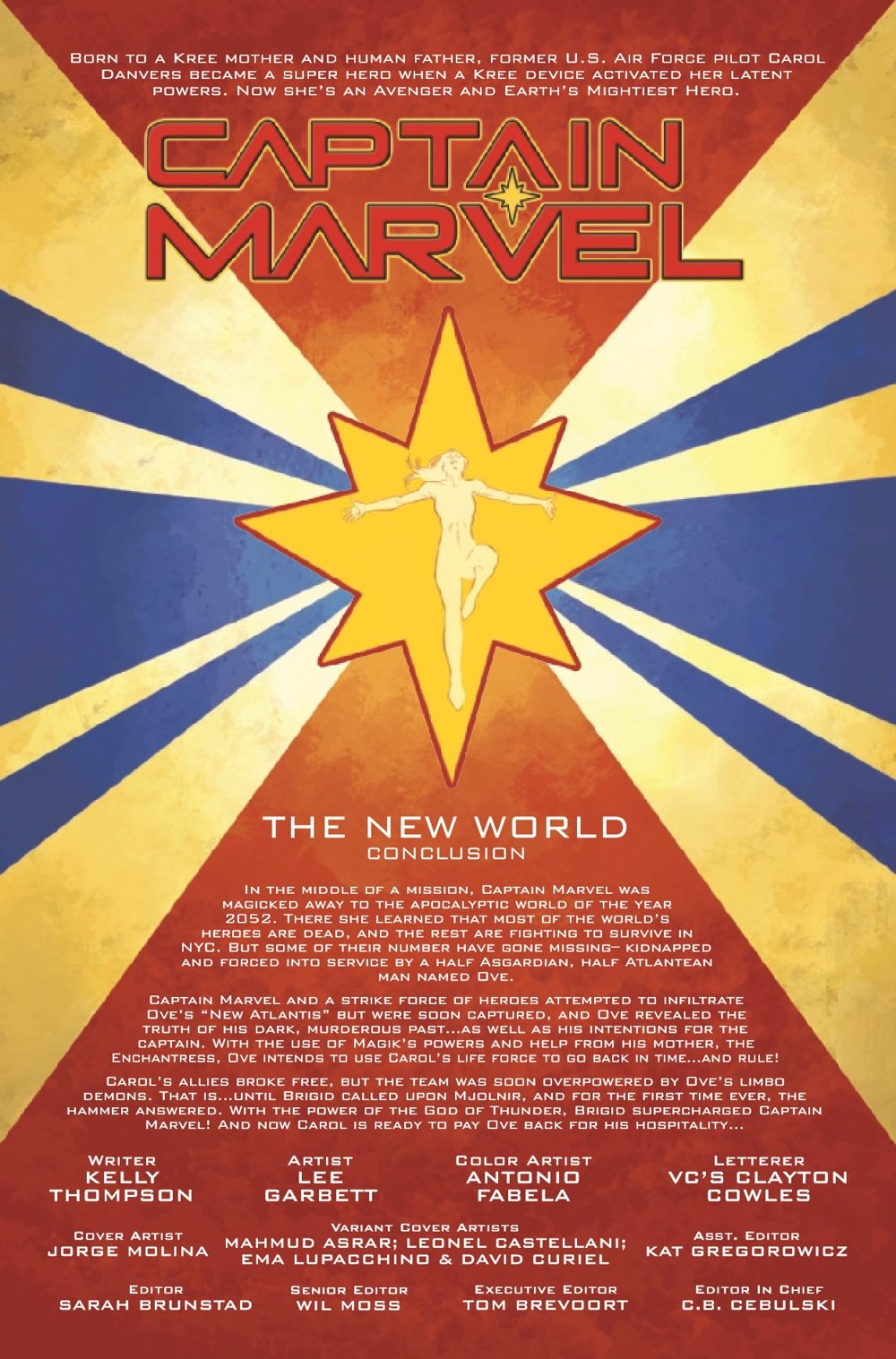 CAPMARV2019026_Preview-2 ComicList Previews: CAPTAIN MARVEL #26