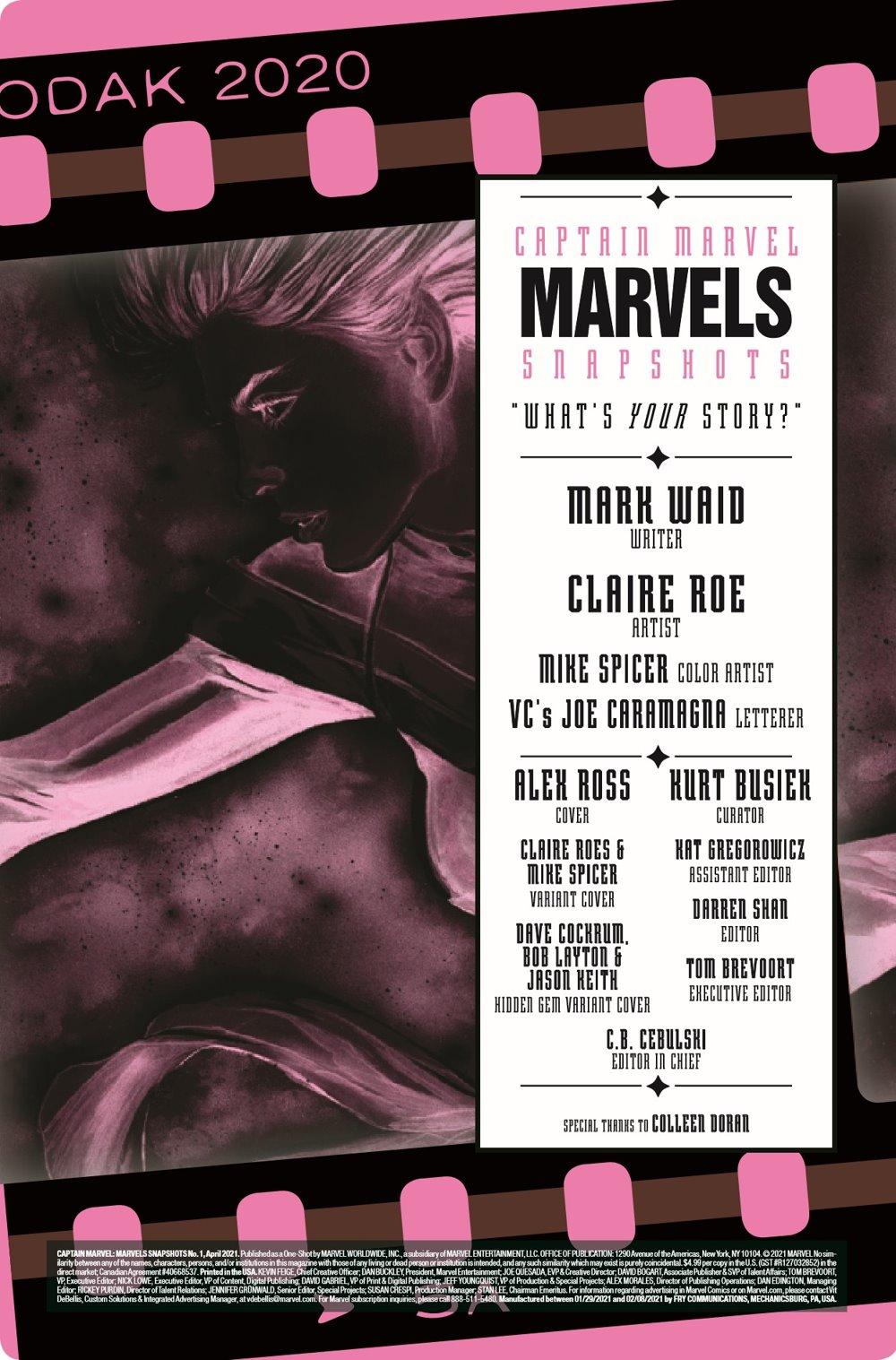 CAPMARVSNAP2020001_Preview-2 ComicList Previews: CAPTAIN MARVEL MARVELS SNAPSHOTS #1