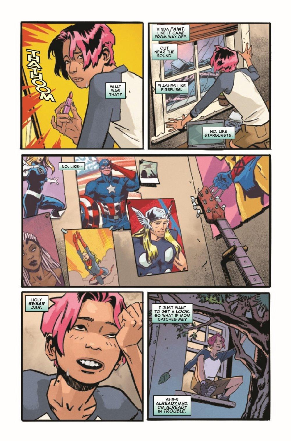 CAPMARVSNAP2020001_Preview-3 ComicList Previews: CAPTAIN MARVEL MARVELS SNAPSHOTS #1