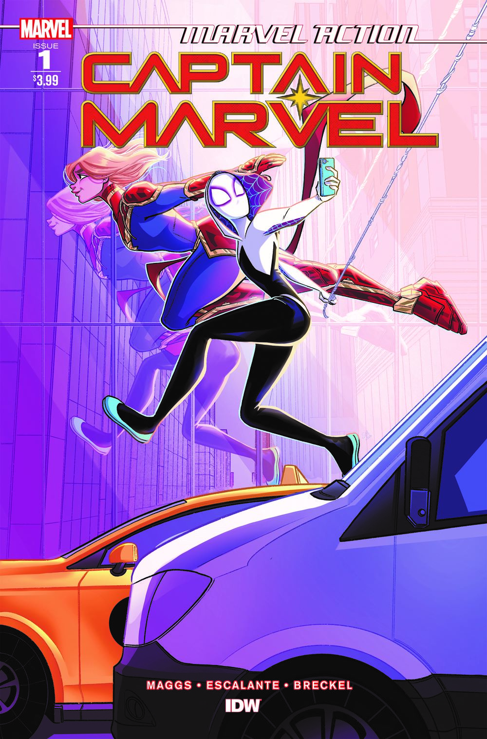 CaptainMarvel_Acvr_01 ComicList: IDW Publishing New Releases for 03/03/2021