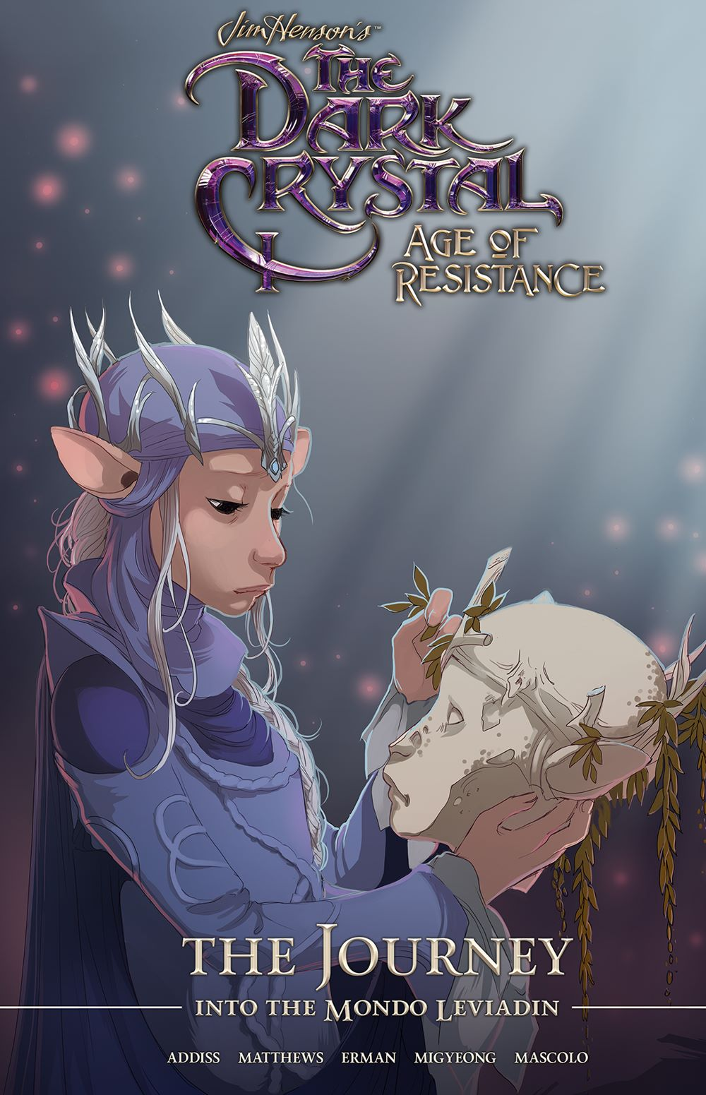 DarkCrystal_AgeResistance_v3_Journey_Cover ComicList Previews: JIM HENSON'S THE DARK CRYSTAL AGE OF RESISTANCE VOLUME 3 THE JOURNEY INTO THE MONDO LEVIADIN HC