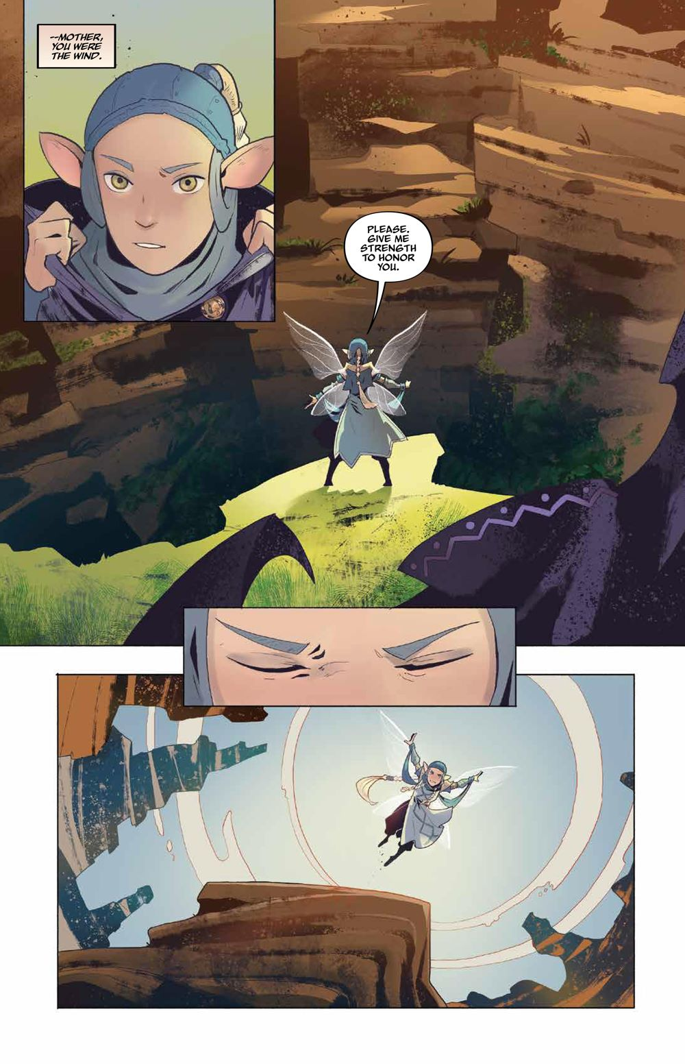 DarkCrystal_AgeResistance_v3_Journey_PRESS_10 ComicList Previews: JIM HENSON'S THE DARK CRYSTAL AGE OF RESISTANCE VOLUME 3 THE JOURNEY INTO THE MONDO LEVIADIN HC