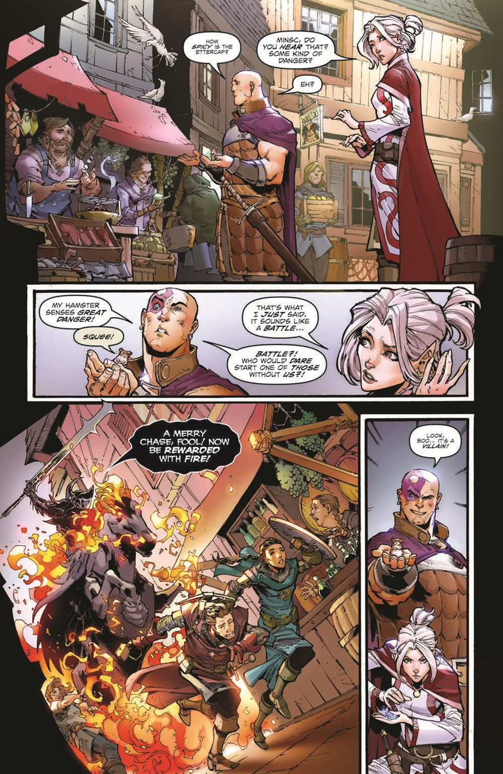 DnD_IF_TPB_pr-7 ComicList Previews: DUNGEONS AND DRAGONS INFERNAL TIDES TP