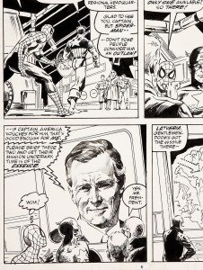 Doctor-Dooms-Revenge-Page-6-George-Bush-226x300 Right Wing & Left Wing Comic Cameos