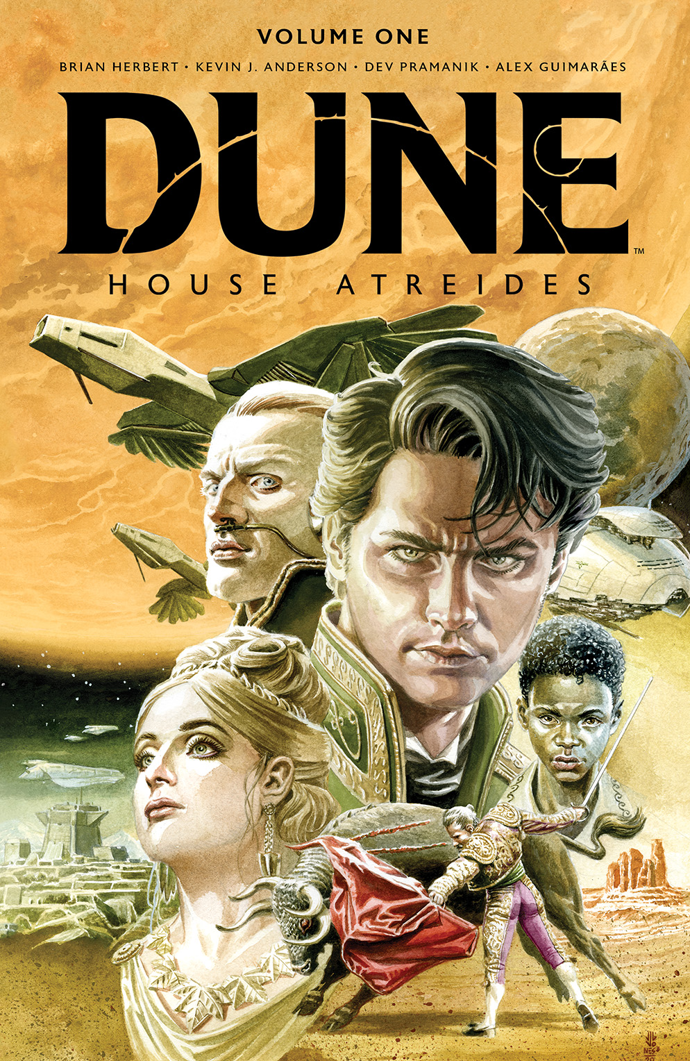Dune_HouseAtreides_v1_LimitedEdition_HC_Cover BOOM! Studios May 2021 Solicitations