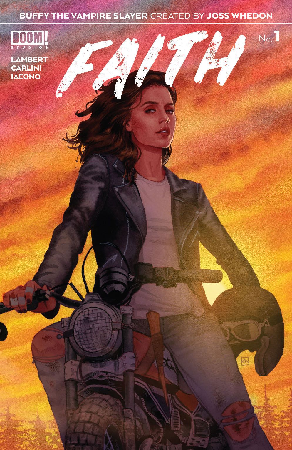Faith_001_Cover_A_Main-1 ComicList Previews: BUFFY THE VAMPIRE SLAYER FAITH #1