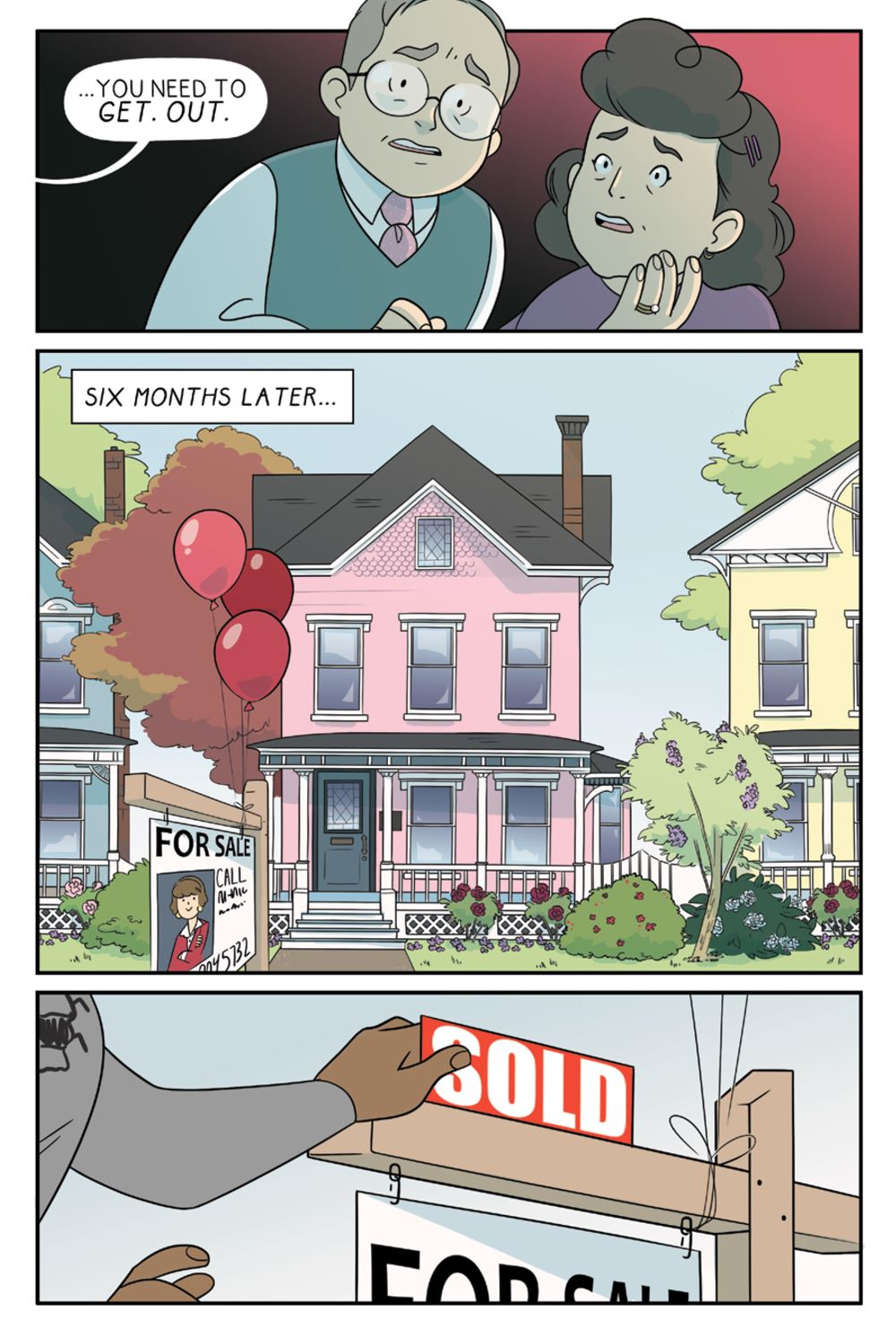 ForeverHome_SC_PRESS_14 ComicList Previews: FOREVER HOME GN