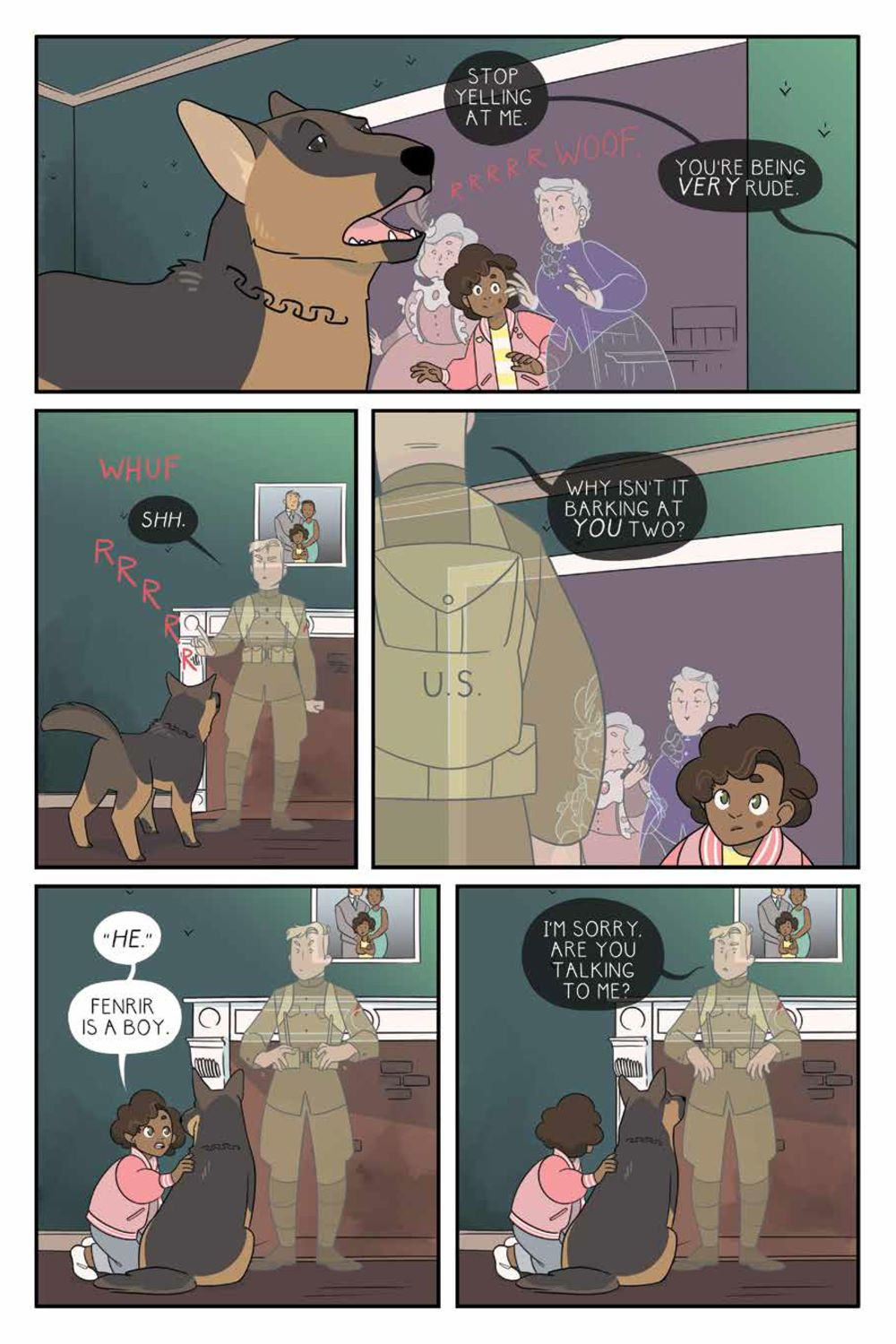 ForeverHome_SC_PRESS_22 ComicList Previews: FOREVER HOME GN