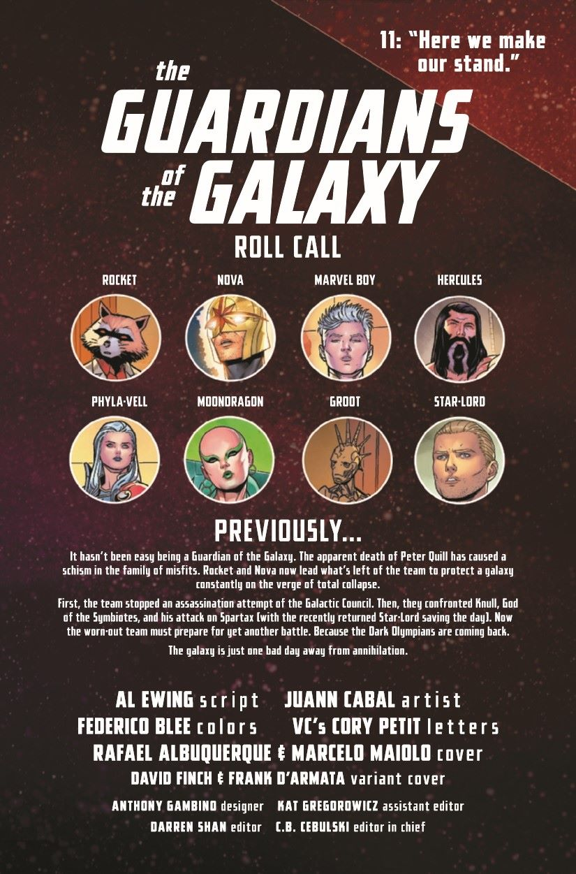GARGAL2020011_Preview-2 ComicList Previews: GUARDIANS OF THE GALAXY #11