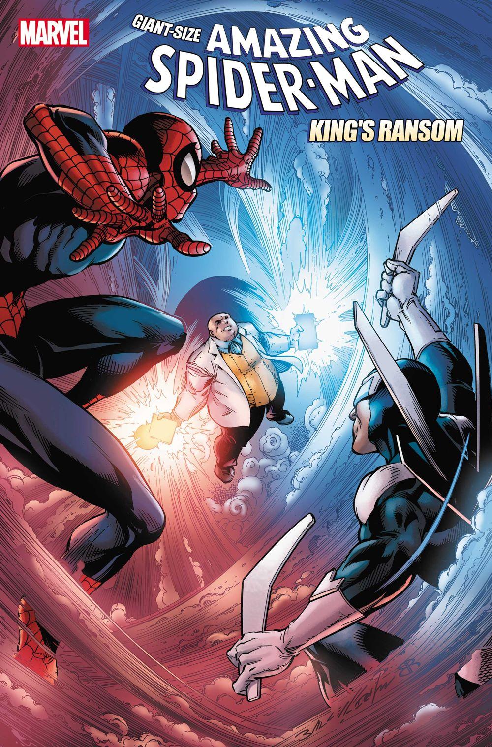 GSASMKINGR2021001_Cover GIANT-SIZE SPIDER-MAN: KING'S RANSOM #1 reveals the Kingpin's plans