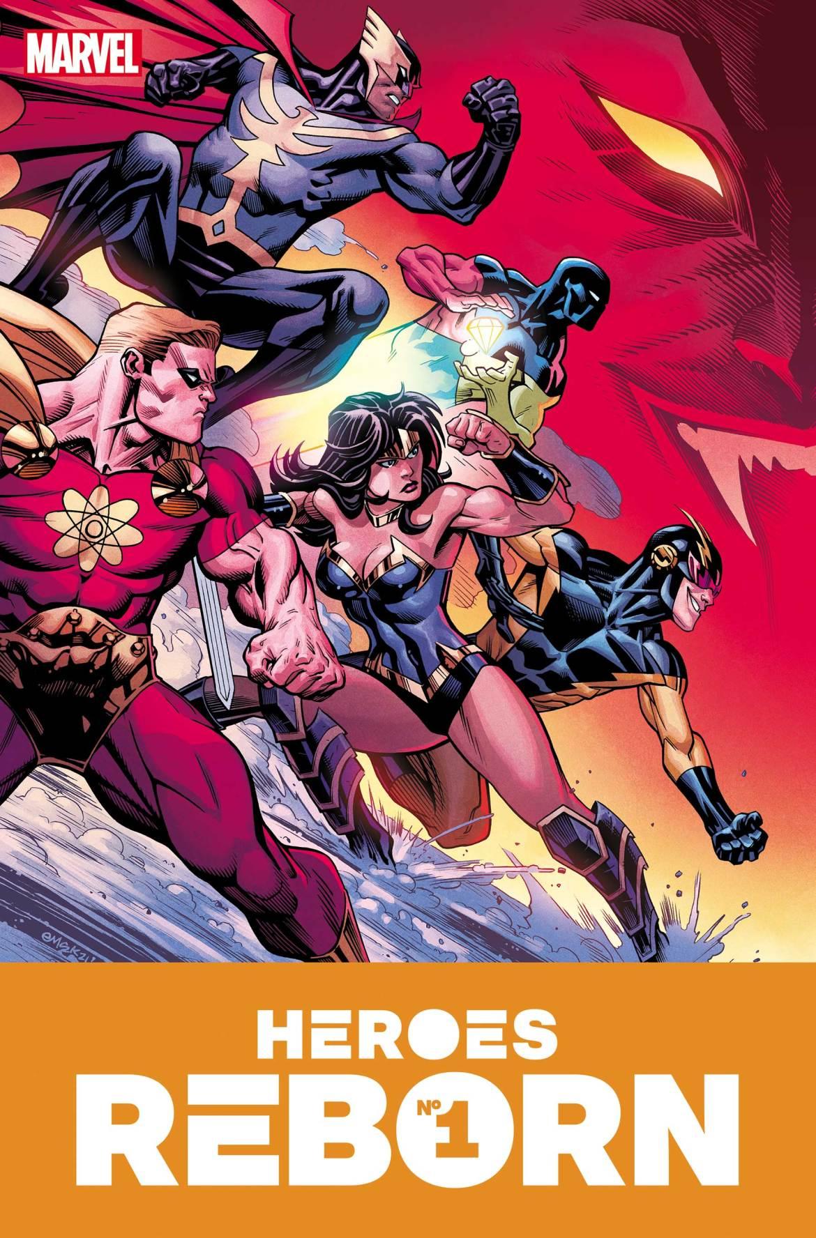HEROESREBORN2021001_McGuinness_Var Marvel Comics May 2021 Solicitations