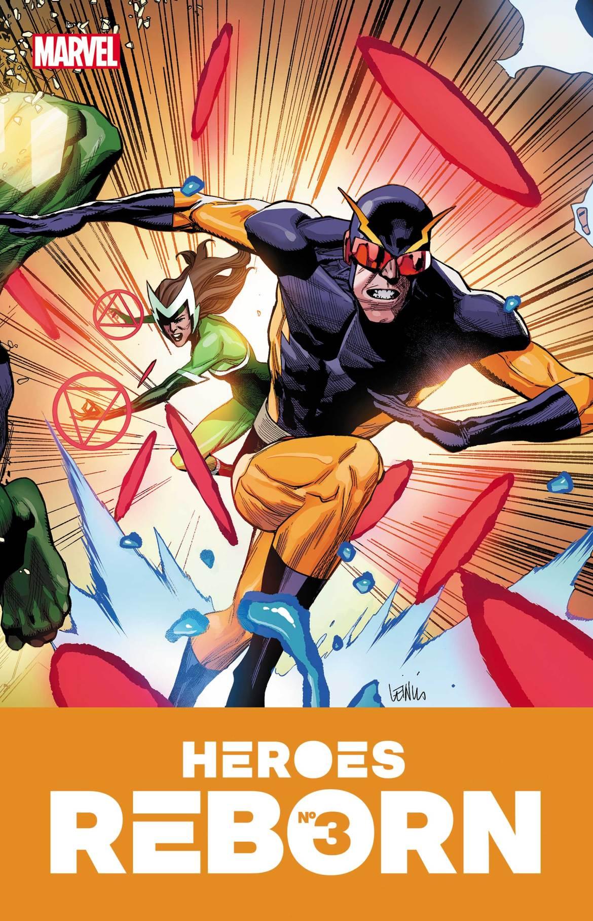 HEROESREBORN2021003 Marvel Comics May 2021 Solicitations