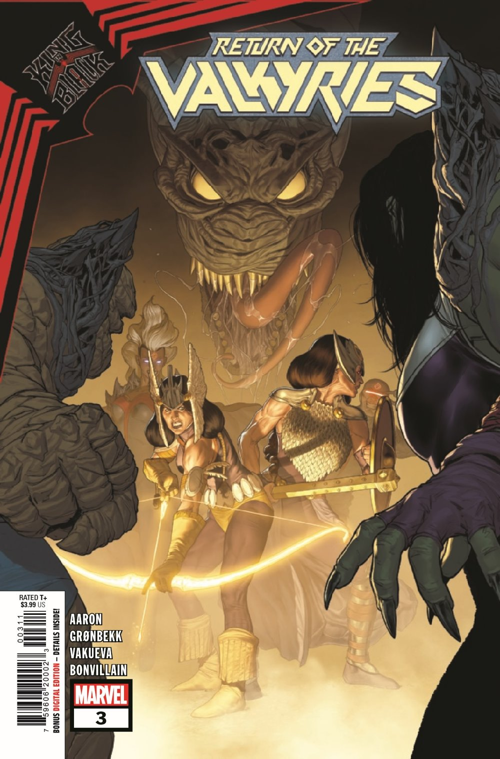 KIBVALKYRIESRET2021003_Preview-1 ComicList Previews: KING IN BLACK RETURN OF THE VALKYRIES #3 (OF 4)