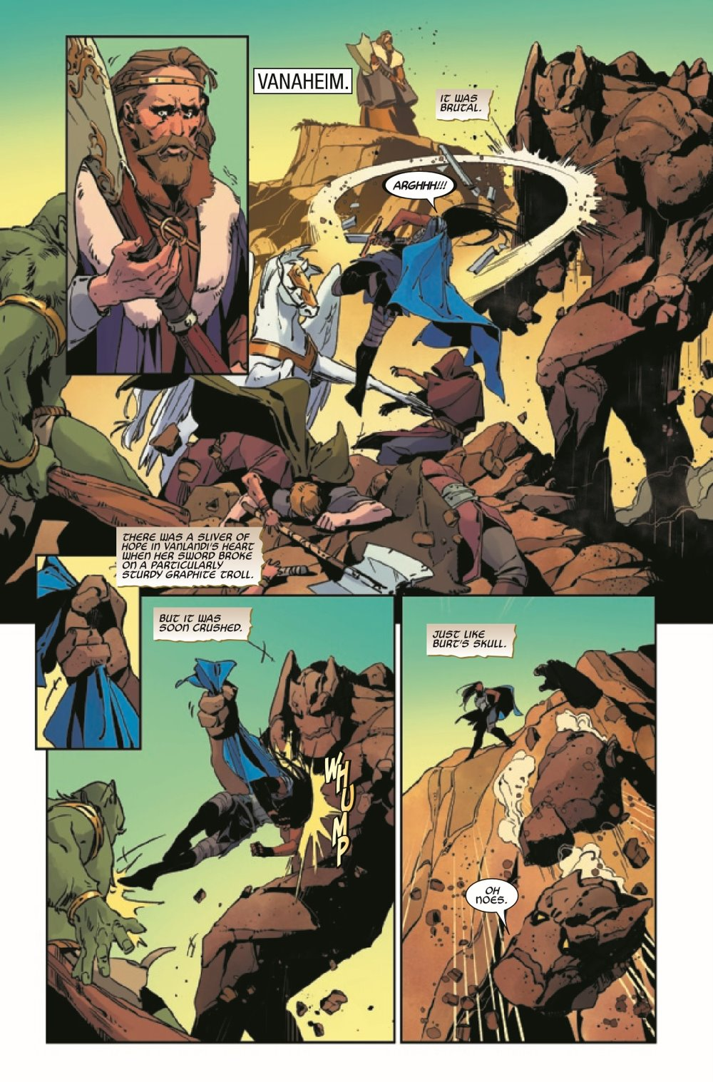 KIBVALKYRIESRET2021003_Preview-3 ComicList Previews: KING IN BLACK RETURN OF THE VALKYRIES #3 (OF 4)