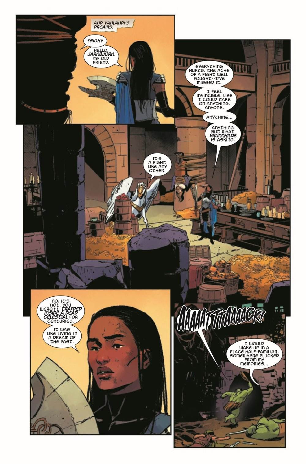 KIBVALKYRIESRET2021003_Preview-4 ComicList Previews: KING IN BLACK RETURN OF THE VALKYRIES #3 (OF 4)