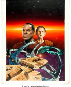 Keith-Birdsong-Star-Trek-Deep-Space-Nine-4-novel-art-243x300 Star Trek Artist Keith Birdsong: Science Fiction Realist