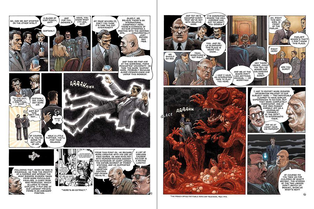 Legends-spread-1 ComicList Previews: ENKI BILAL LIBRARY VOLUME 1 LEGENDS OF TODAY HC