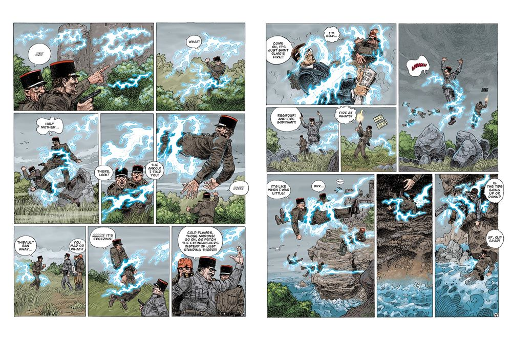 Legends-spread-5 ComicList Previews: ENKI BILAL LIBRARY VOLUME 1 LEGENDS OF TODAY HC