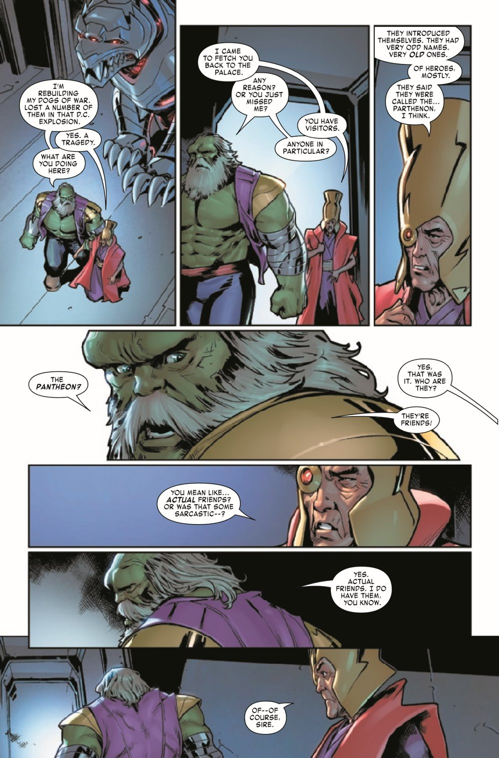 MAESTROWAP2021002_Preview-6 ComicList Previews: MAESTRO WAR AND PAX #2 (OF 5)