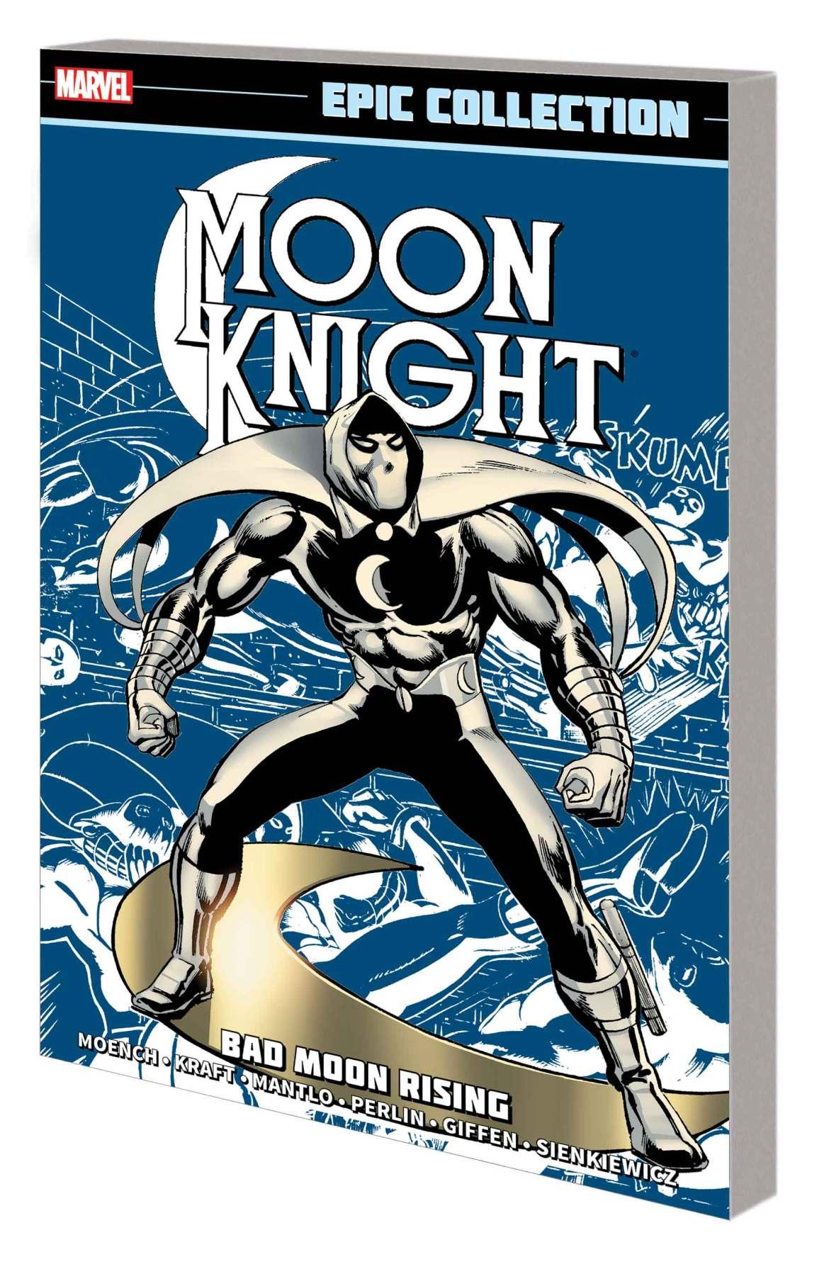 MOONKNEPICV01TPB_cover Marvel Comics May 2021 Solicitations