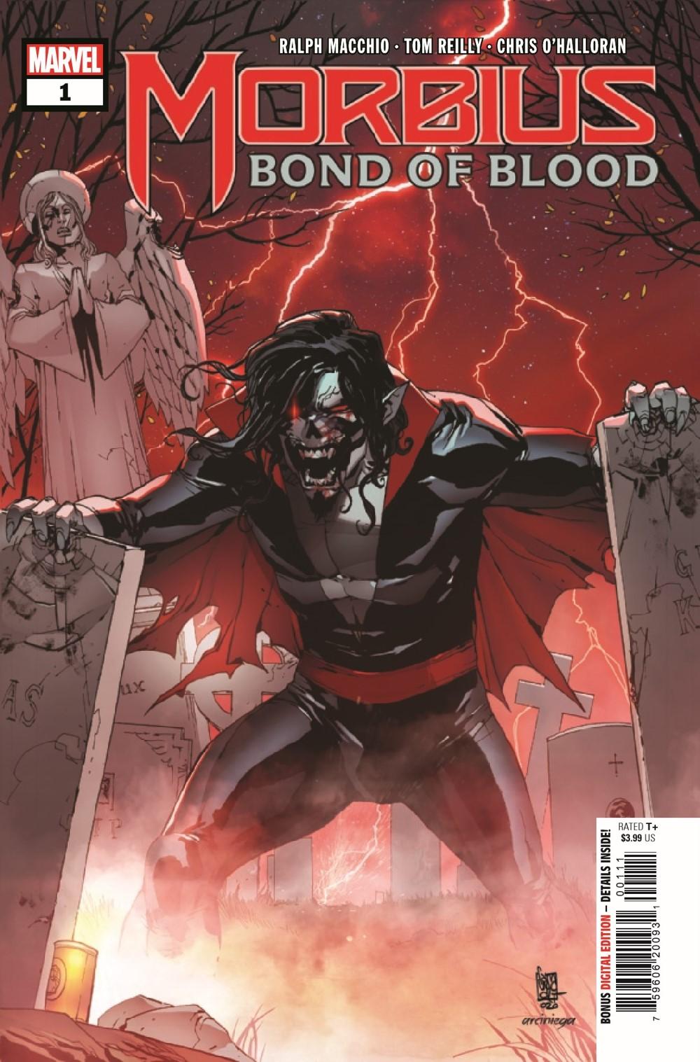 MORBIUSBOB2021001_Preview-1 ComicList Previews: MORBIUS BOND OF BLOOD #1