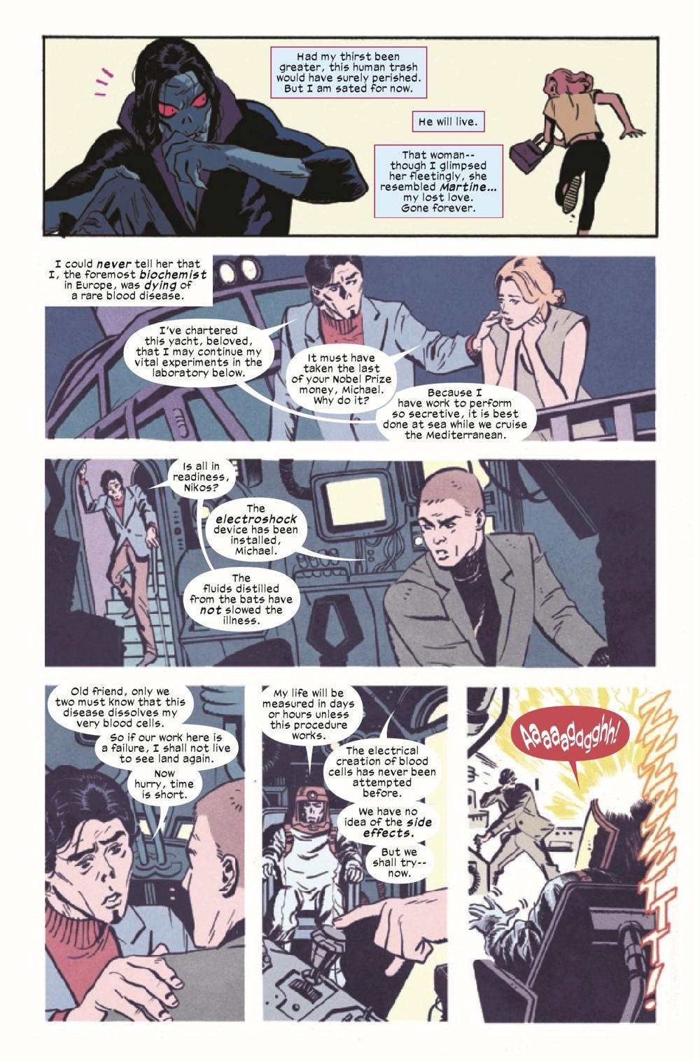 MORBIUSBOB2021001_Preview-4 ComicList Previews: MORBIUS BOND OF BLOOD #1