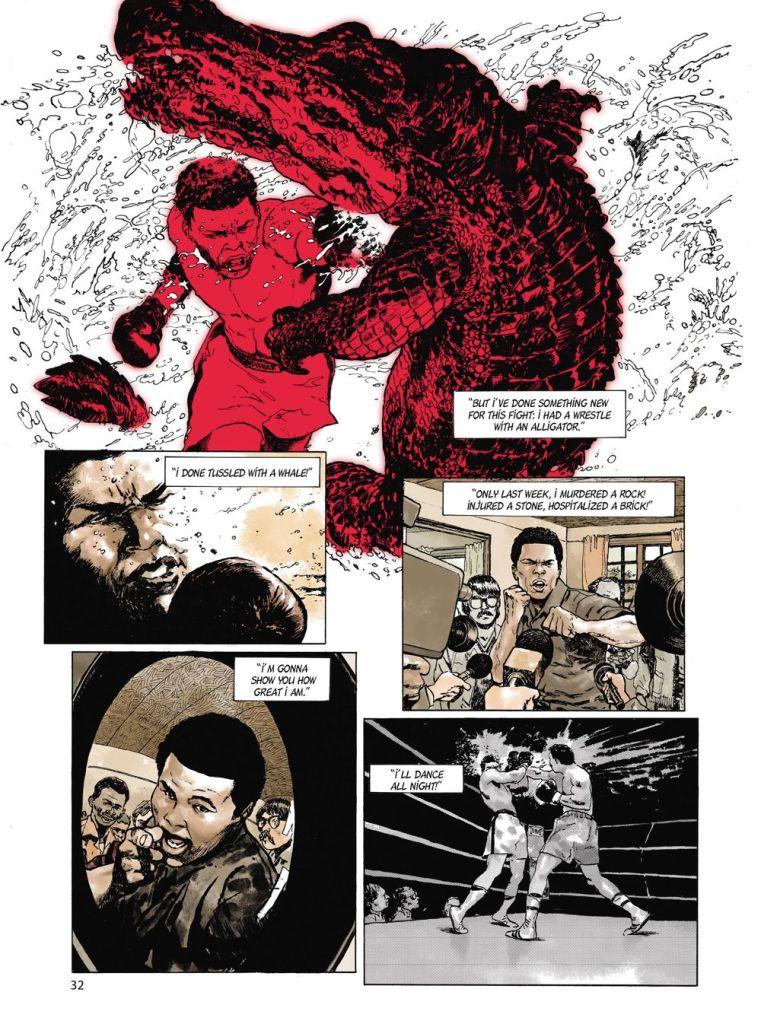 Muhammad-Ali.IN07-761x1024 ComicList Previews: MUHAMMAD ALI KINSHASA 1974 HC