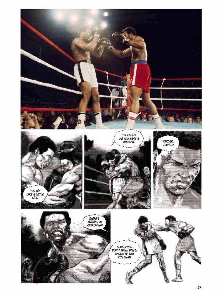 MuhammadAli-Previews-spread-1-761x1024 ComicList Previews: MUHAMMAD ALI KINSHASA 1974 HC