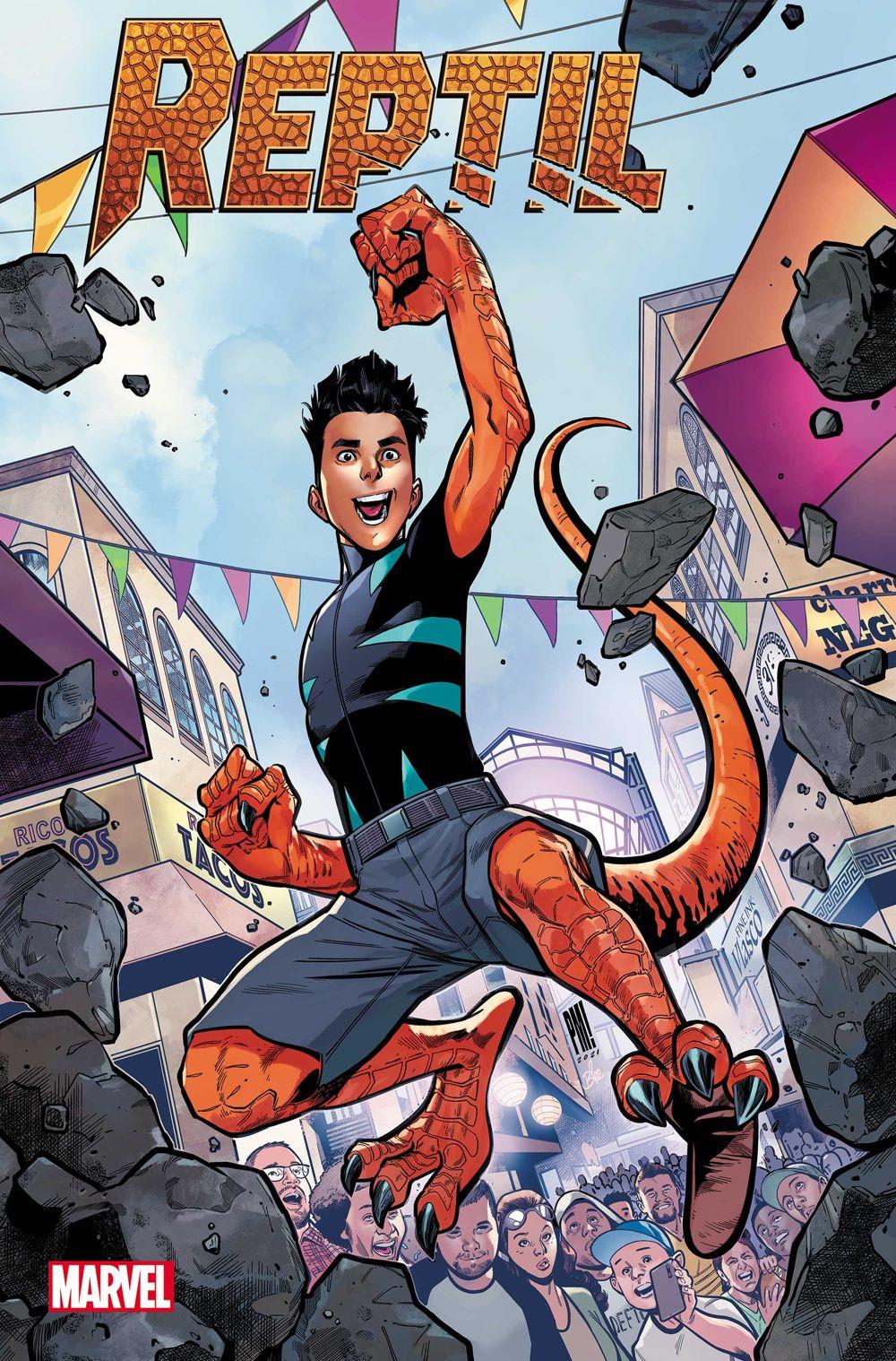 REPTIL2021001_cvr-1 Reptil evolves into his own Marvel Comics limited series