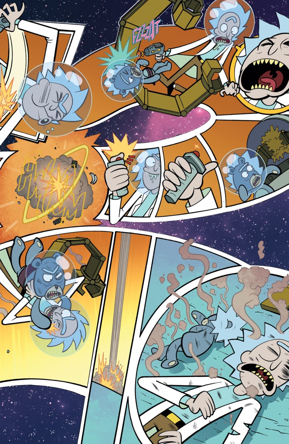 RICKMORTY-WORLDSAPART-2-REFERENCE-06 ComicList Previews: RICK AND MORTY WORLDS APART #2
