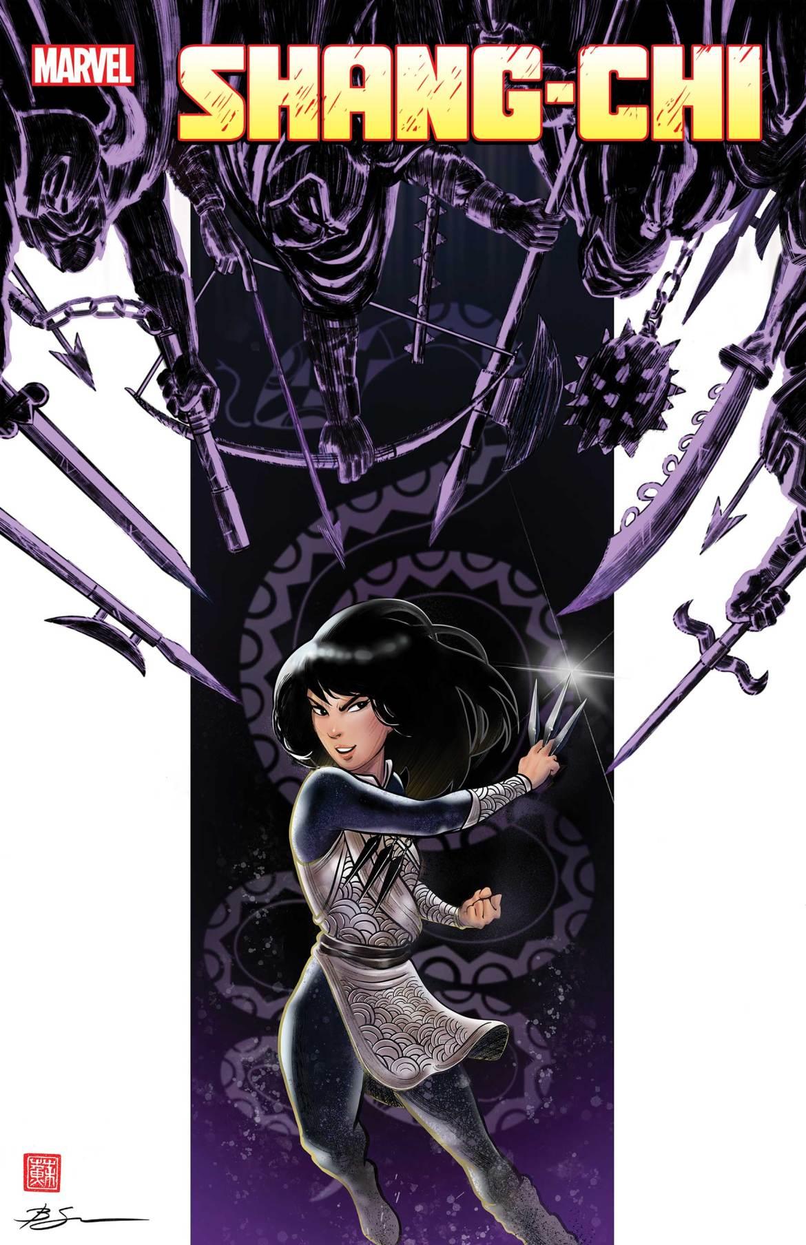 SHANGCHI2021001_Su_CoverVar Marvel Comics May 2021 Solicitations