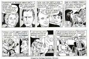 Spider-Man-Daily-with-George-Bush-and-Mikhail-Gorbachev-300x200 Right Wing & Left Wing Comic Cameos