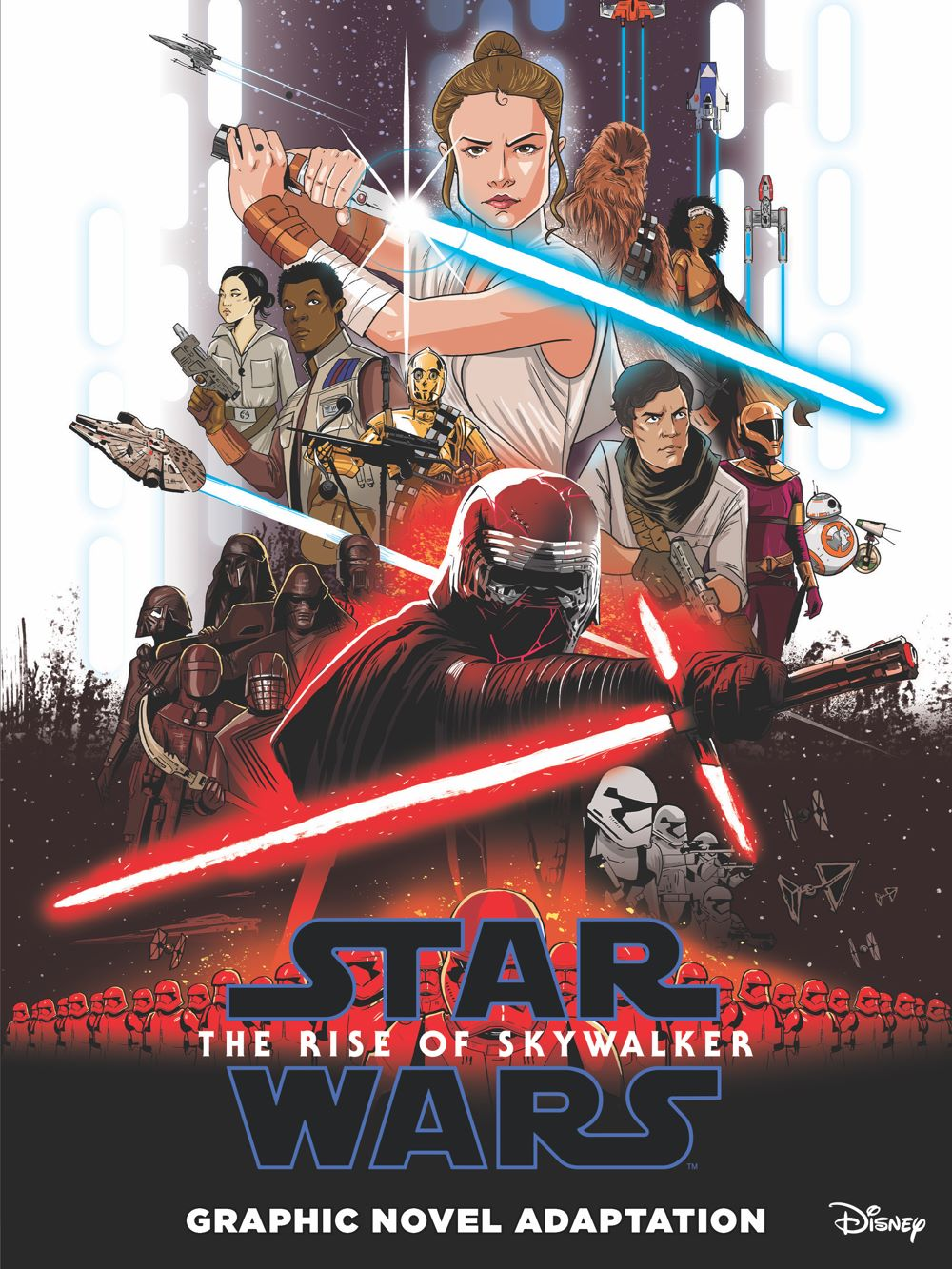 StarWars_IX_TheRiseOfSkywalker_Cover-2 ComicList Previews: STAR WARS THE RISE OF SKYWALKER GN