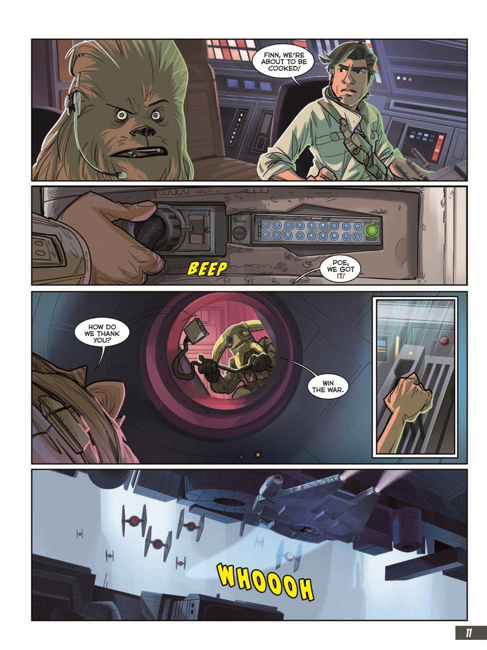 StarWars_IX_TheRiseOfSkywalker_pr-7 ComicList Previews: STAR WARS THE RISE OF SKYWALKER GN