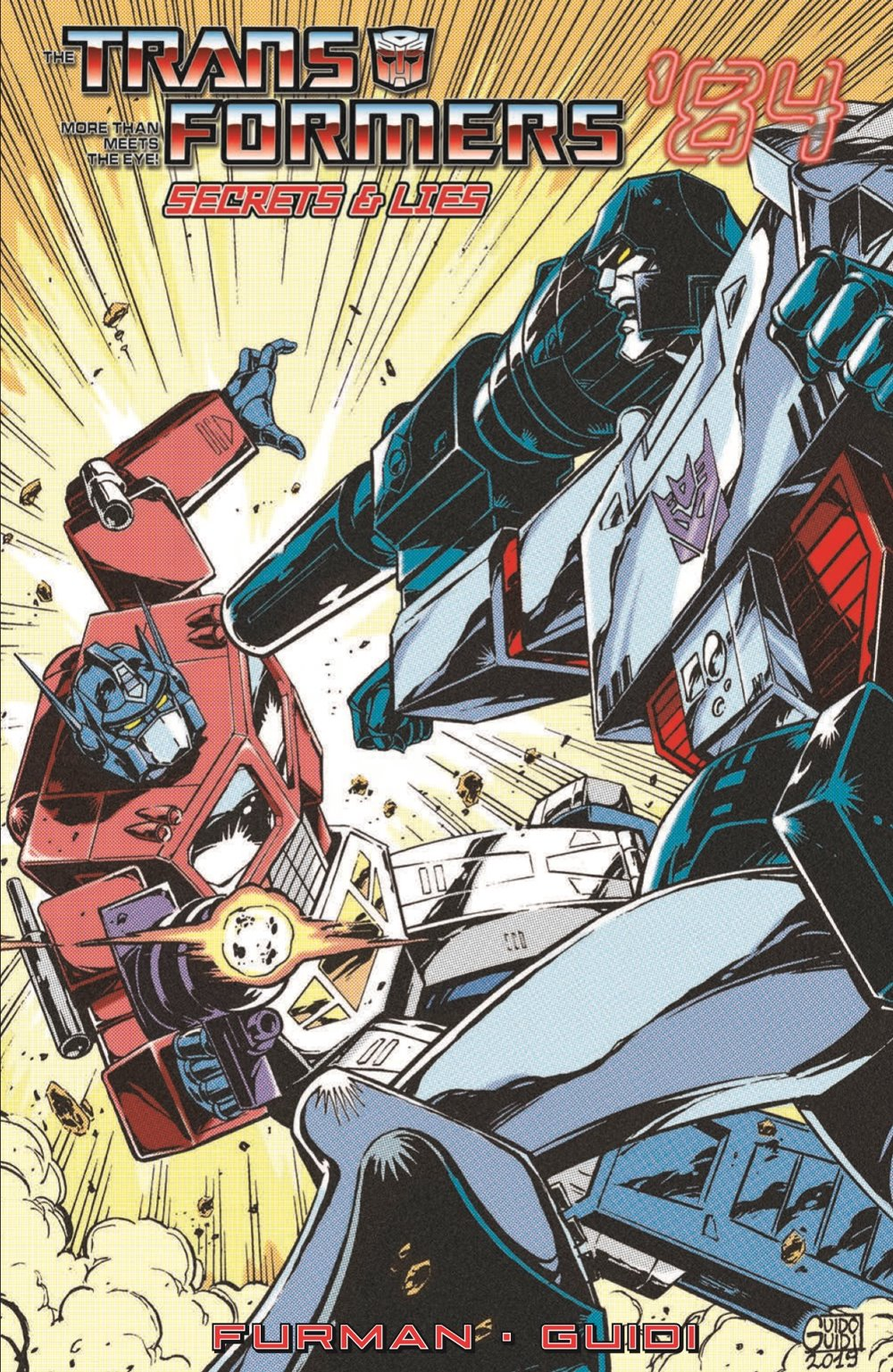 TF84_Secrets_Lies_TPB_pr-1 ComicList Previews: TRANSFORMERS '84 SECRETS AND LIES TP