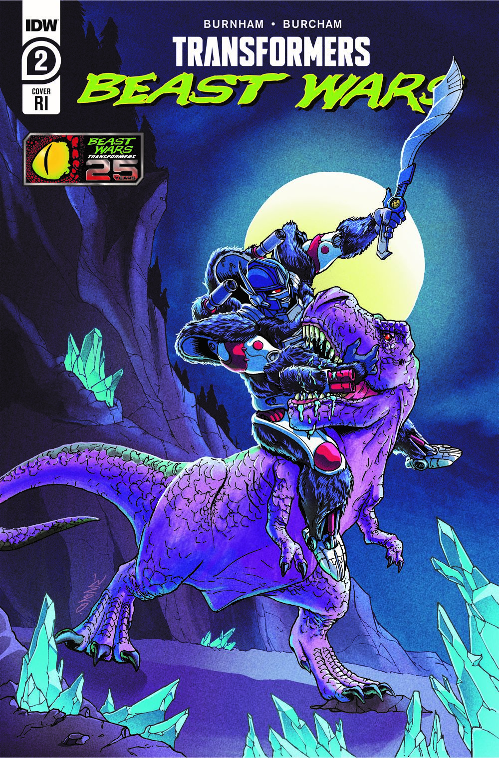 TFBW-Cover-RI ComicList Previews: TRANSFORMERS BEAST WARS #2